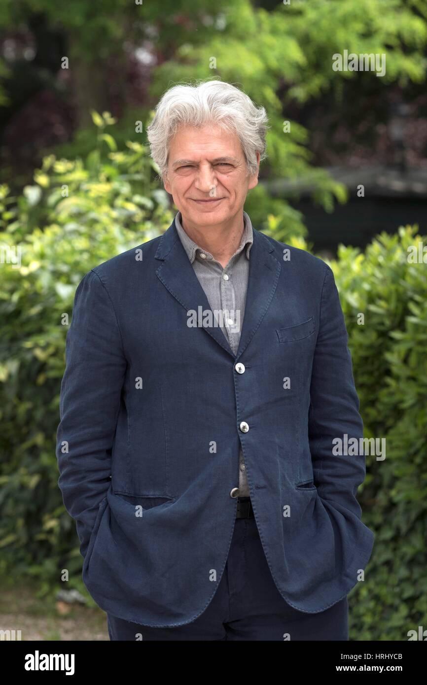 Fabrizio Bentivoglio, italienischer Schauspieler, Rom, Italien, 11. Mai 2016 Kredit © Fabio Mazzarella/Sintesi/Alamy Stockbild
