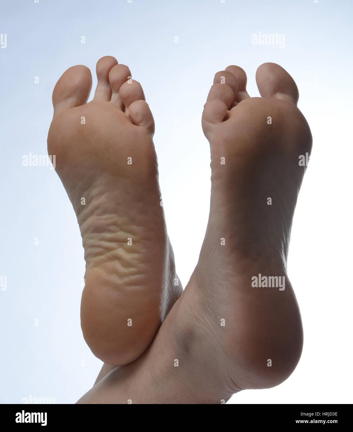 Füße Stockfoto, Bild: 135015090 - Alamy