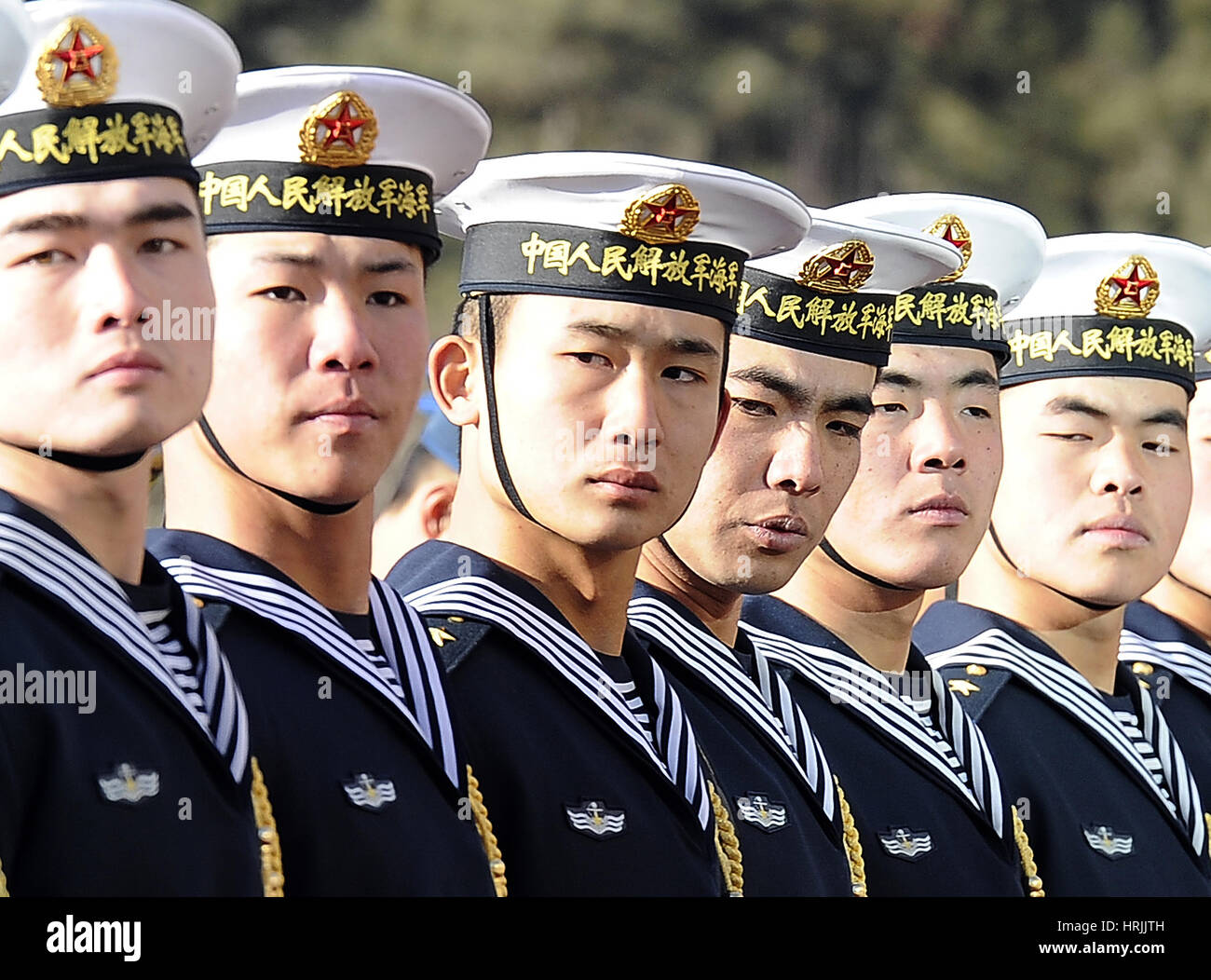 Peoples Liberation Army Navy, 2011 Stockbild