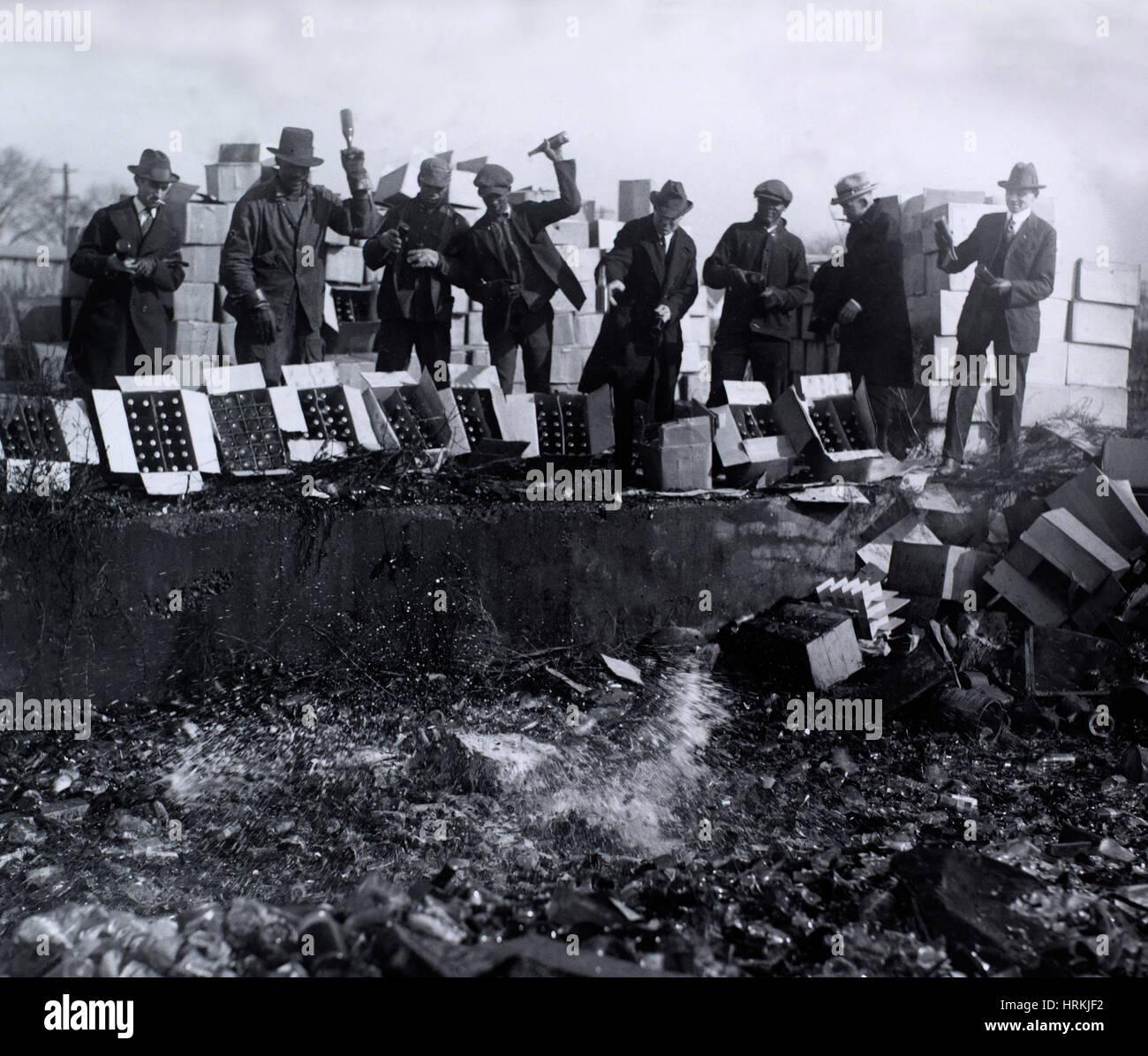 Verbot, 1923 Stockbild