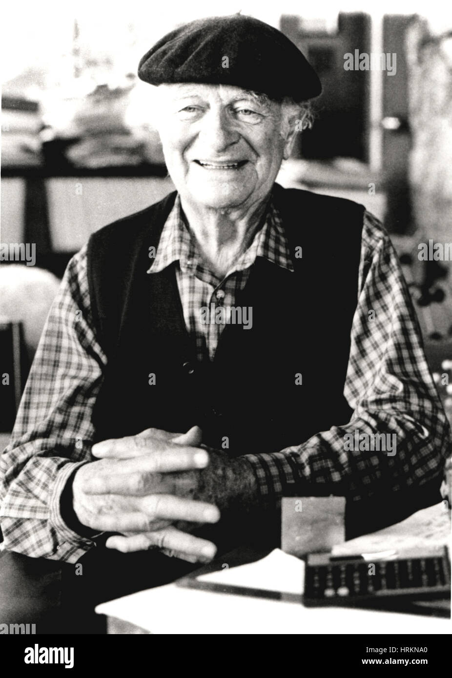 Linus Pauling, Nobelpreisträger 1954/1962 Stockbild