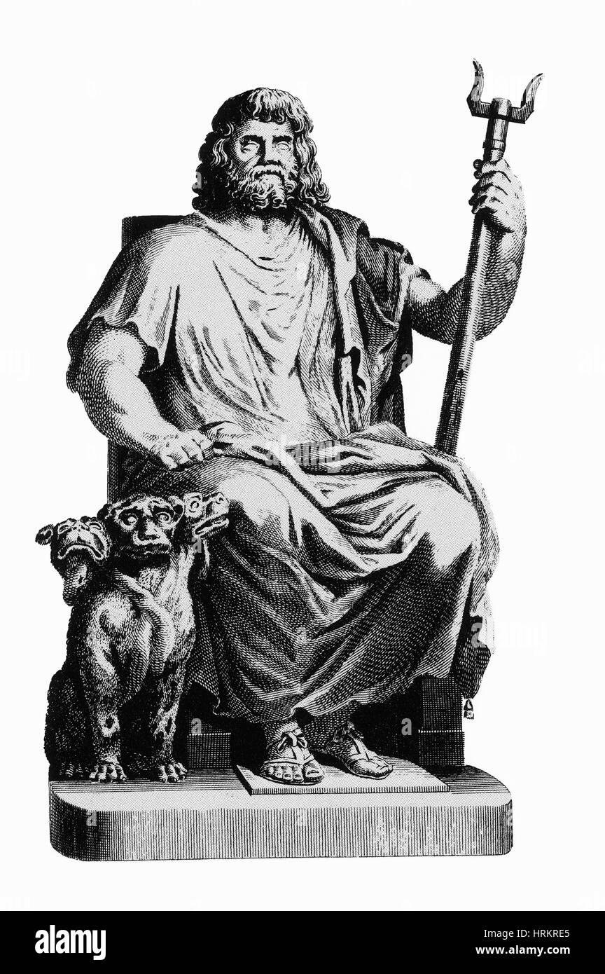 Römischer Gott Des Weines Und Des Festes