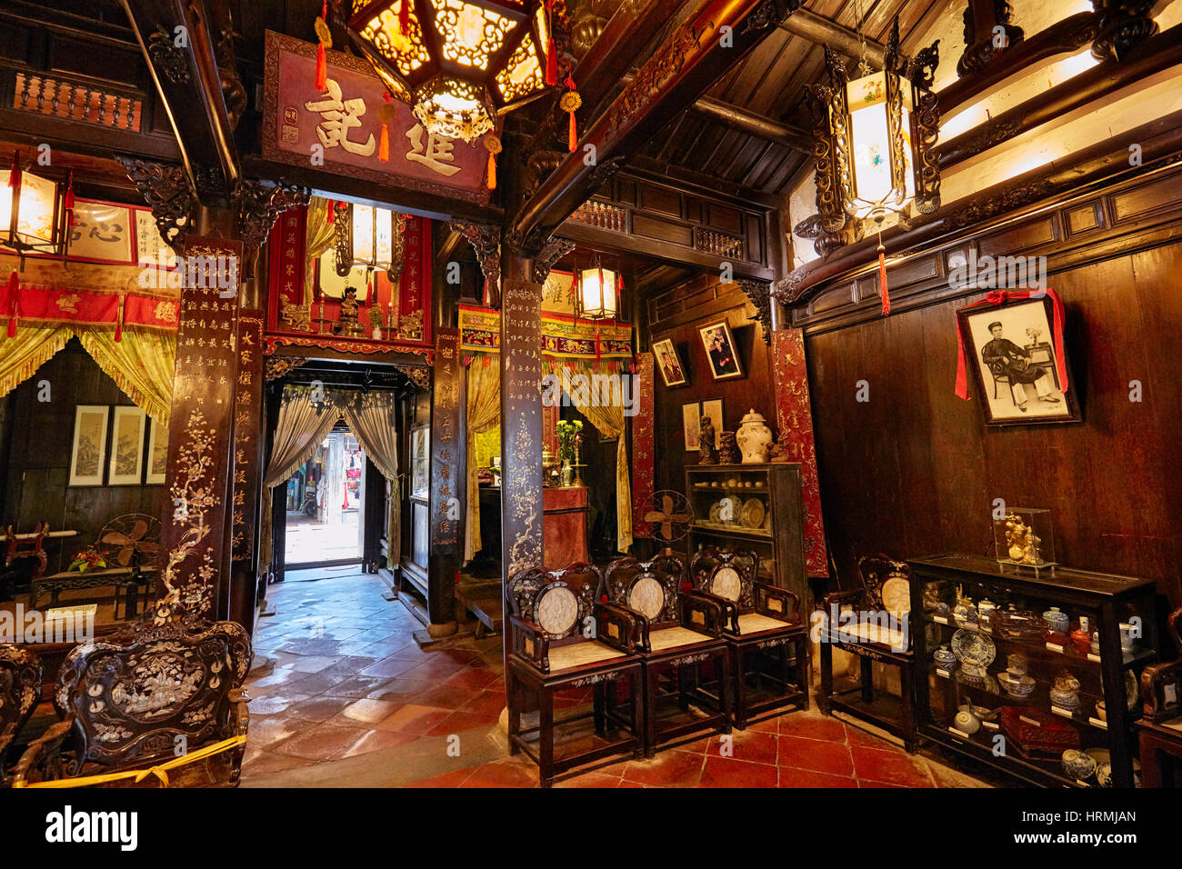 Old hoi an stockfotos old hoi an bilder alamy for Traditionelles chinesisches haus hanoi