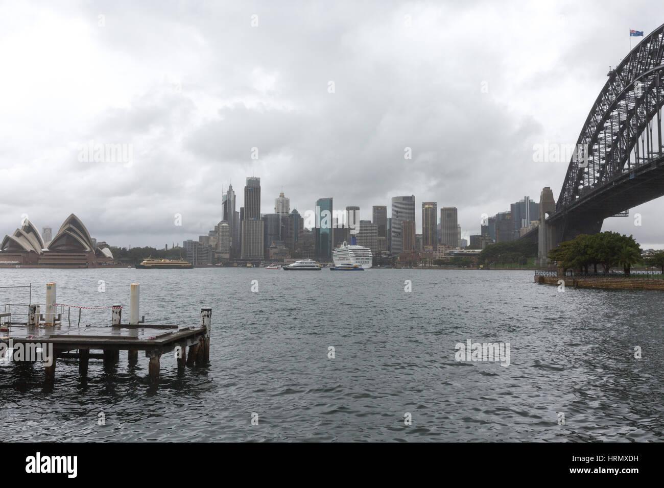 Sydney, Australien. 3. März 2017. Eine Woche nach starken Regenfällen und Gewittern in Sydney und Teile von New Stockfoto