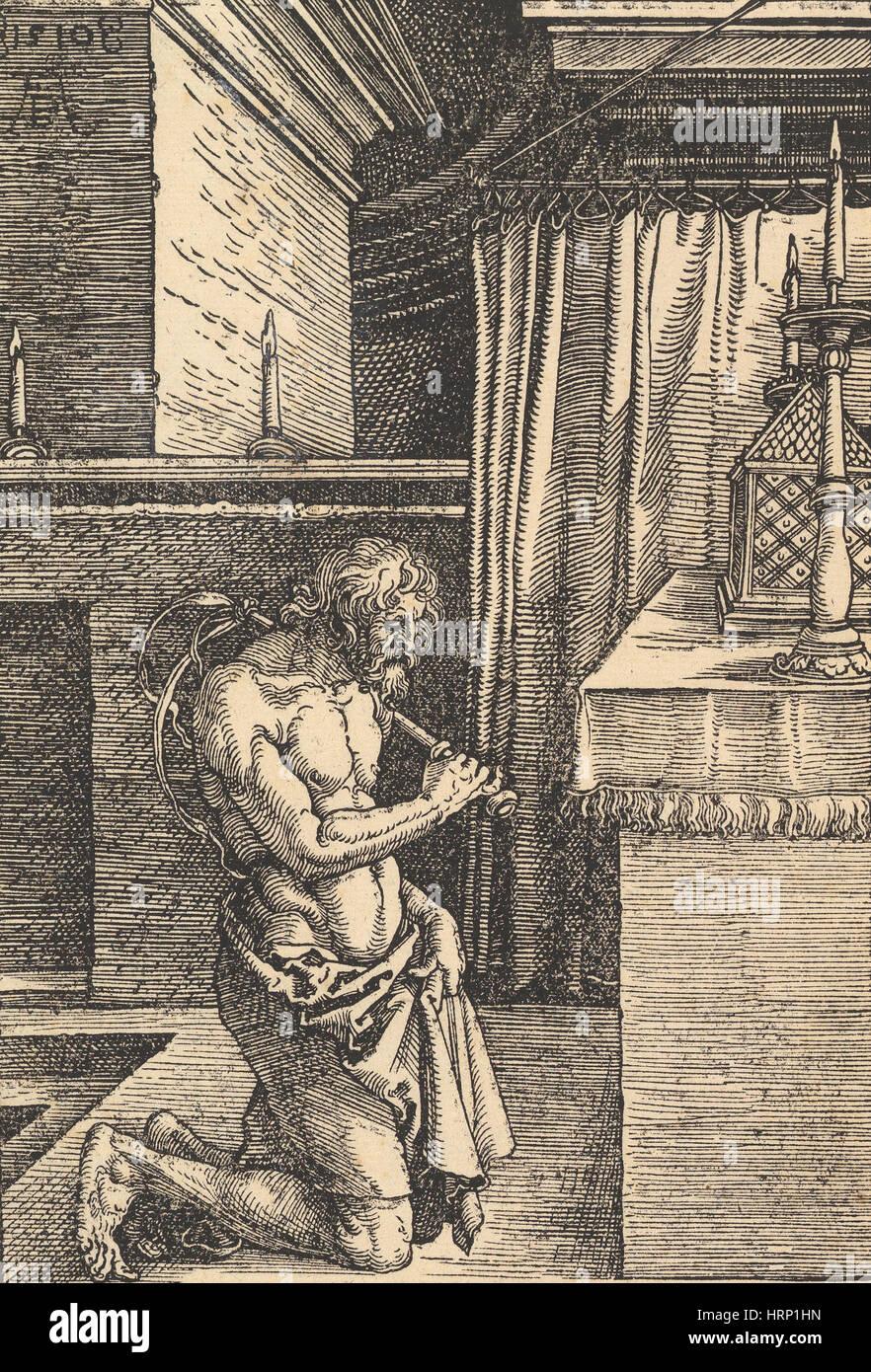 Die Büßer von Albrecht DÌ_rer Stockbild