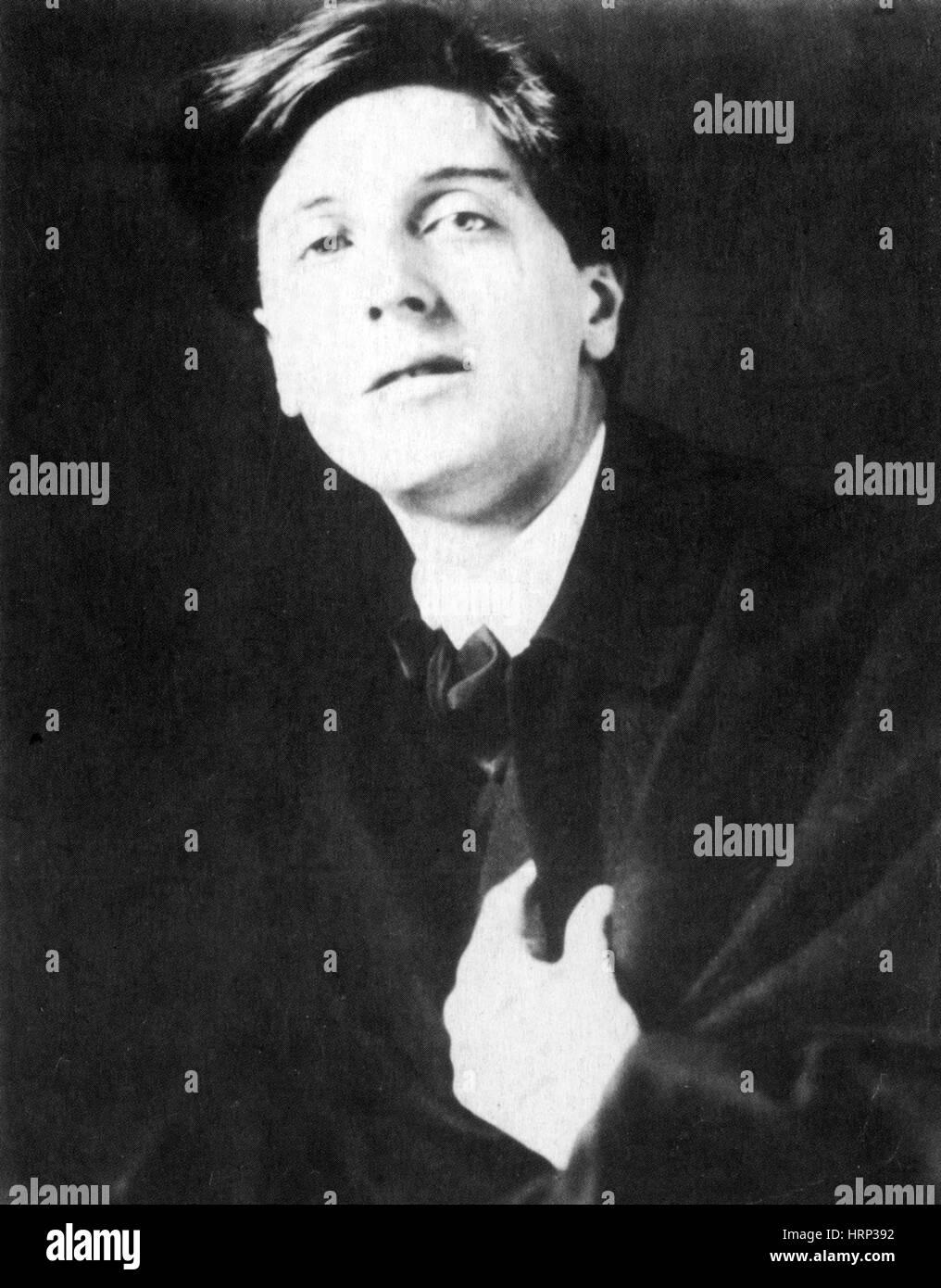 Alban Berg, österreichischer Komponist Stockbild
