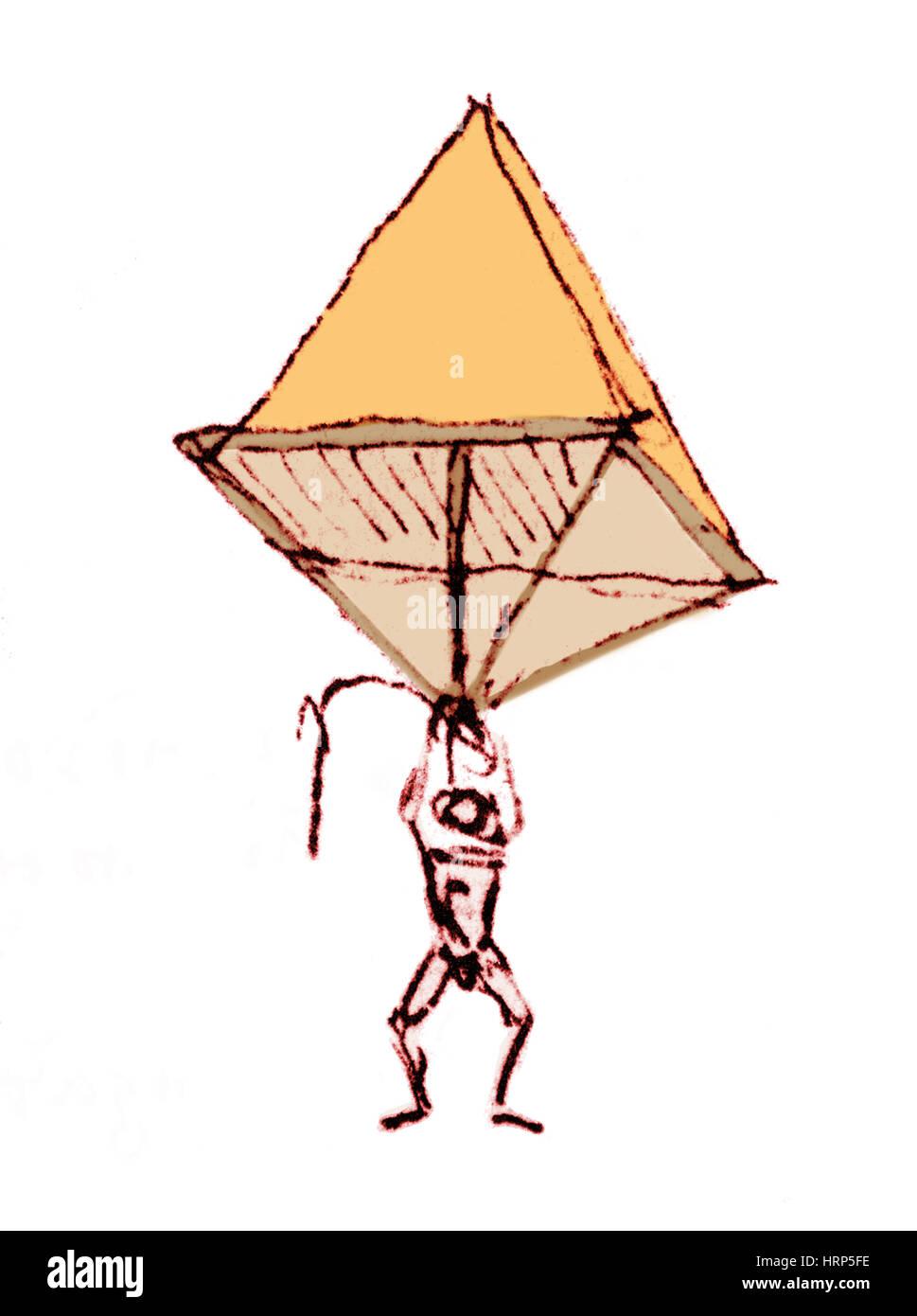 Da Vinci Fallschirm