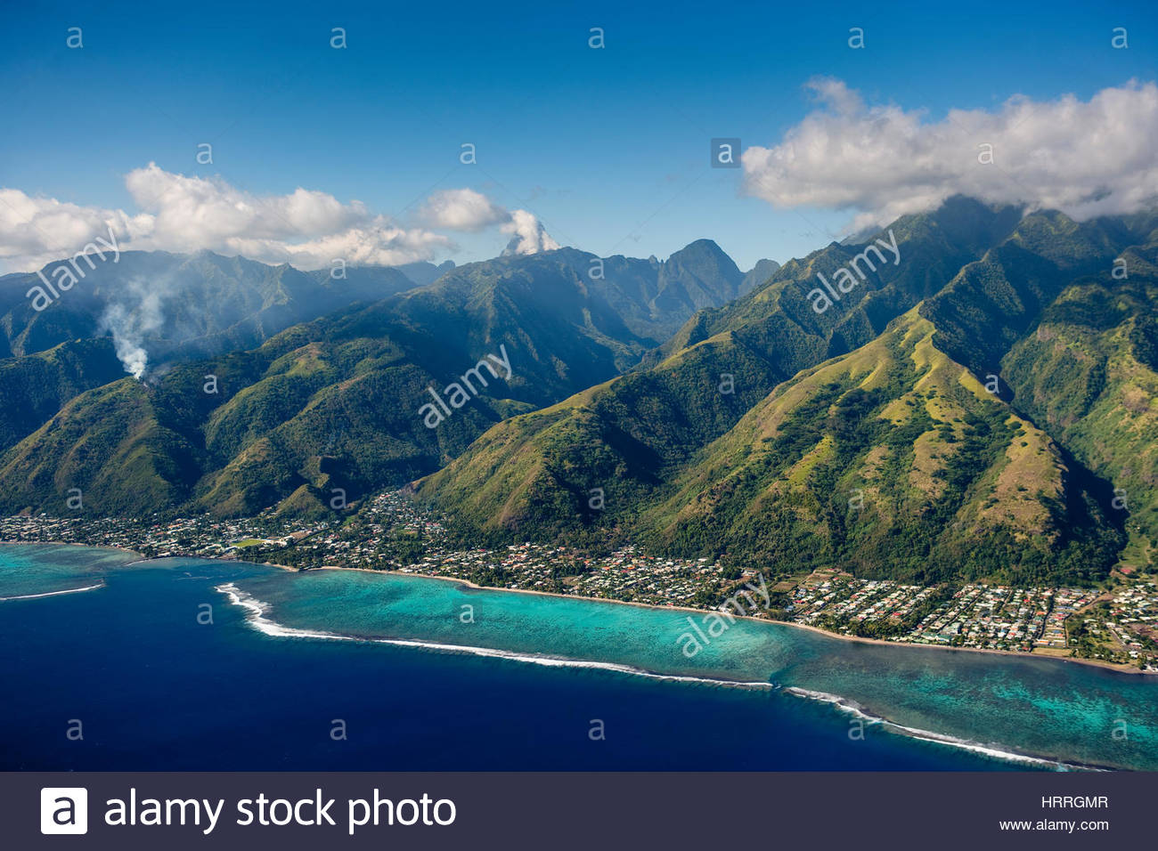 tropical islands von franz sisch polynesien hauptstadt papeete auf tahiti stockfoto bild. Black Bedroom Furniture Sets. Home Design Ideas