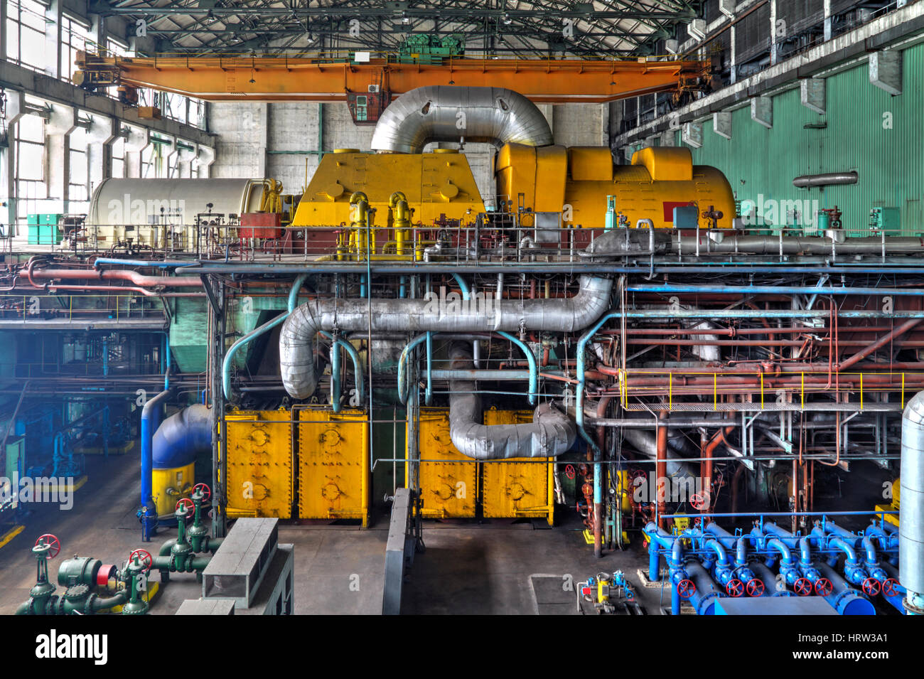 Groß Kessel Im Wärmekraftwerk Bilder - Schaltplan Serie Circuit ...