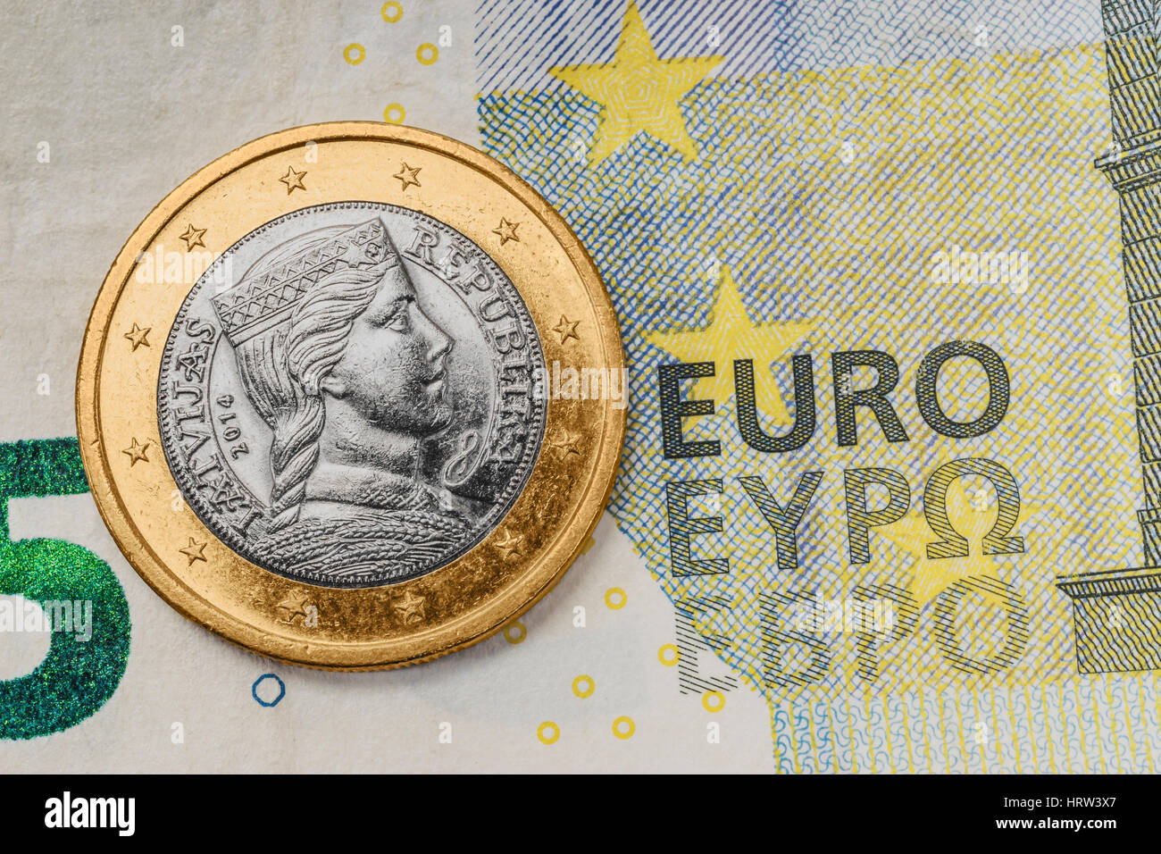 5 Euro Banknote Back Stockfotos 5 Euro Banknote Back Bilder Alamy