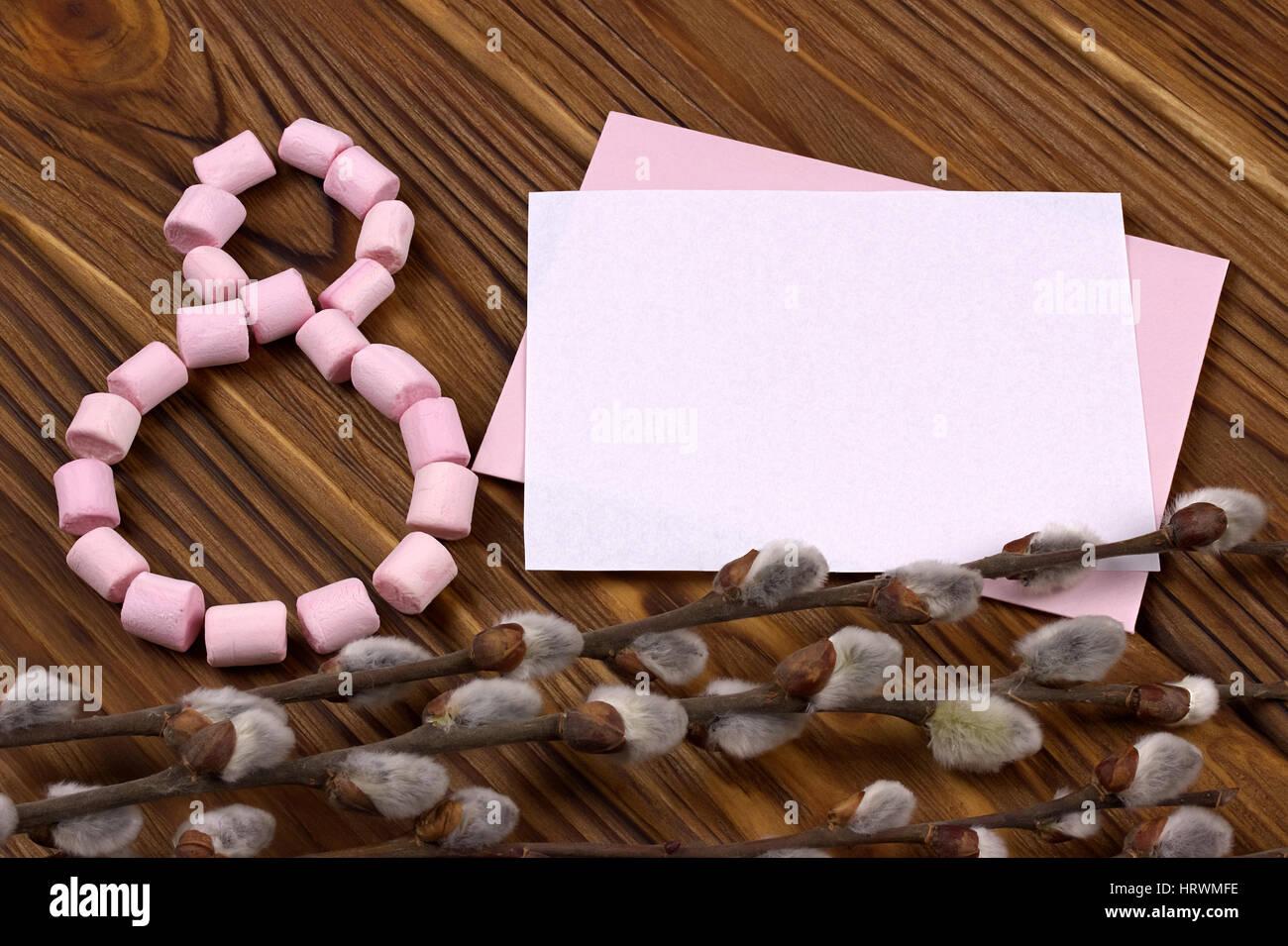Happy Birthday Text Flowers Stockfotos & Happy Birthday