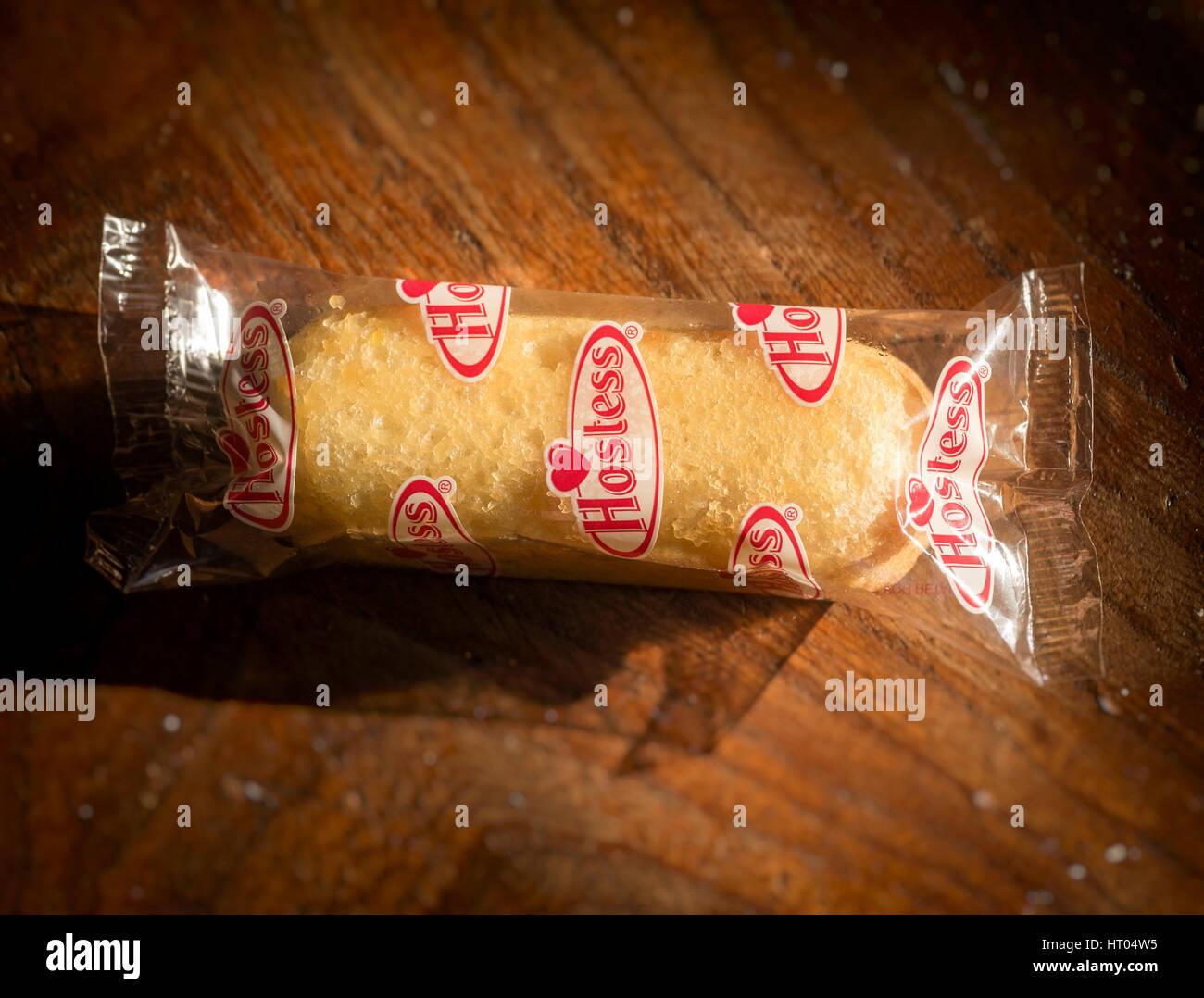 Hostess Twinkie Kuchen Eine Creme Gefullte Kuchen Hergestellt Und