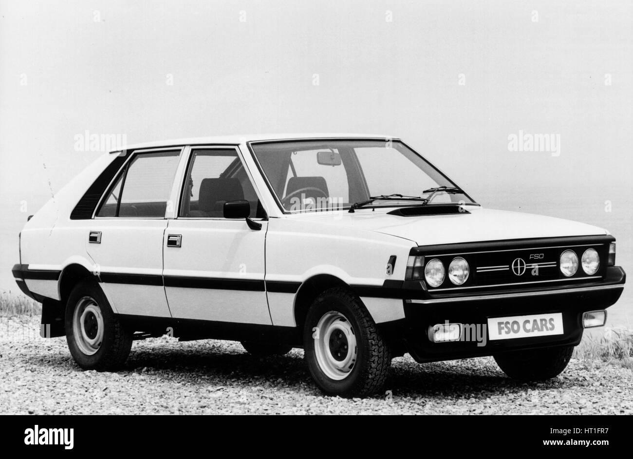 1983 FSO Polonez LE Stockbild