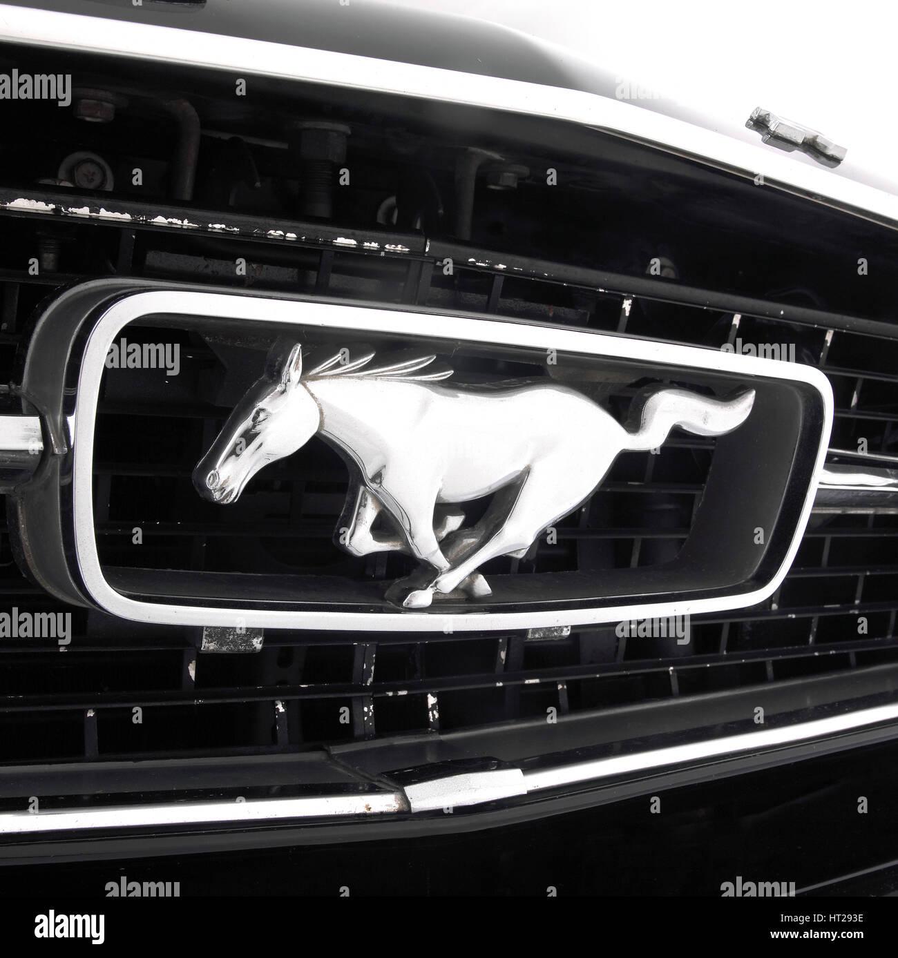 1966 ford Mustang 289 gt Artist: unbekannt. Stockbild
