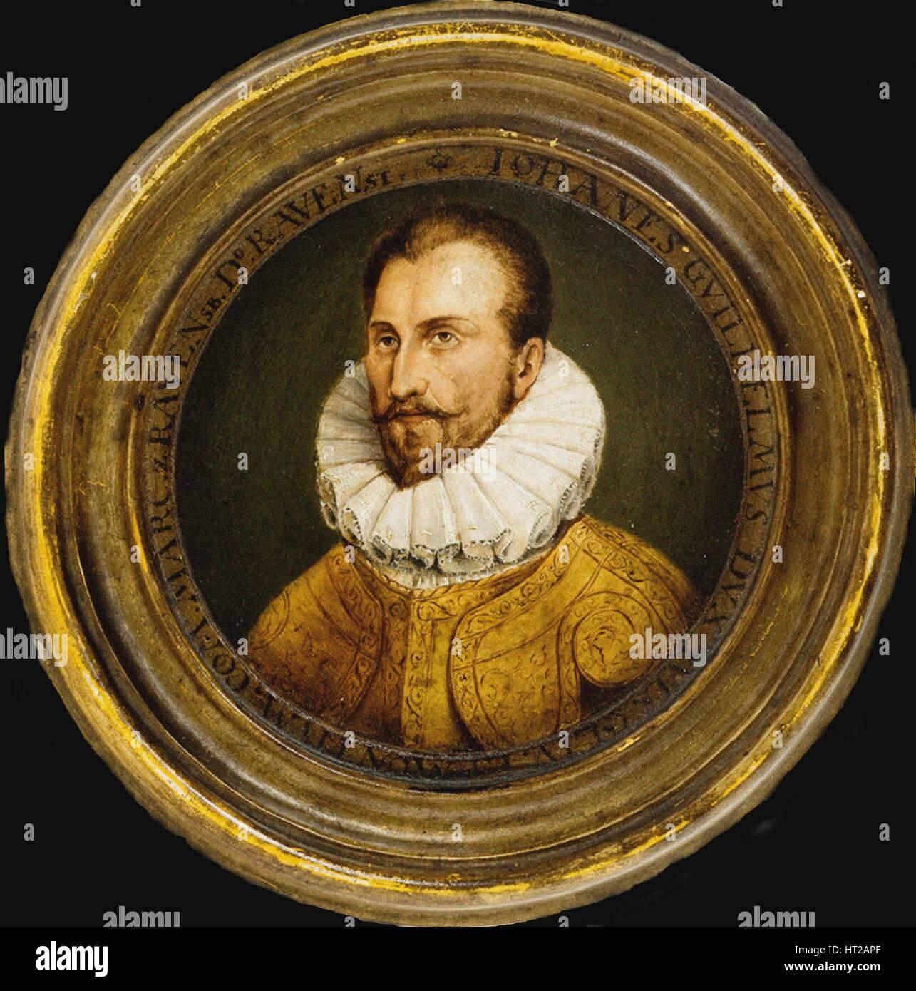 Porträt von John William, Herzog von Jülich-Cleves-Berg (1562-1609), 17. Jahrhundert. Künstler: anonym Stockbild