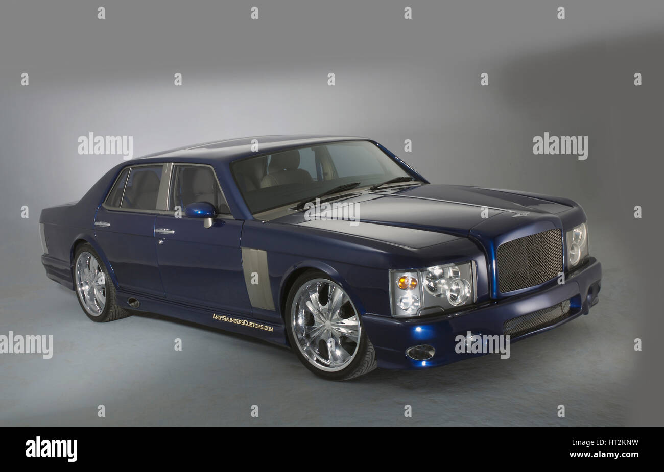 1983 Bentley Mulsanne - Mentley Insanne Custom Car. Künstler: unbekannt. Stockbild