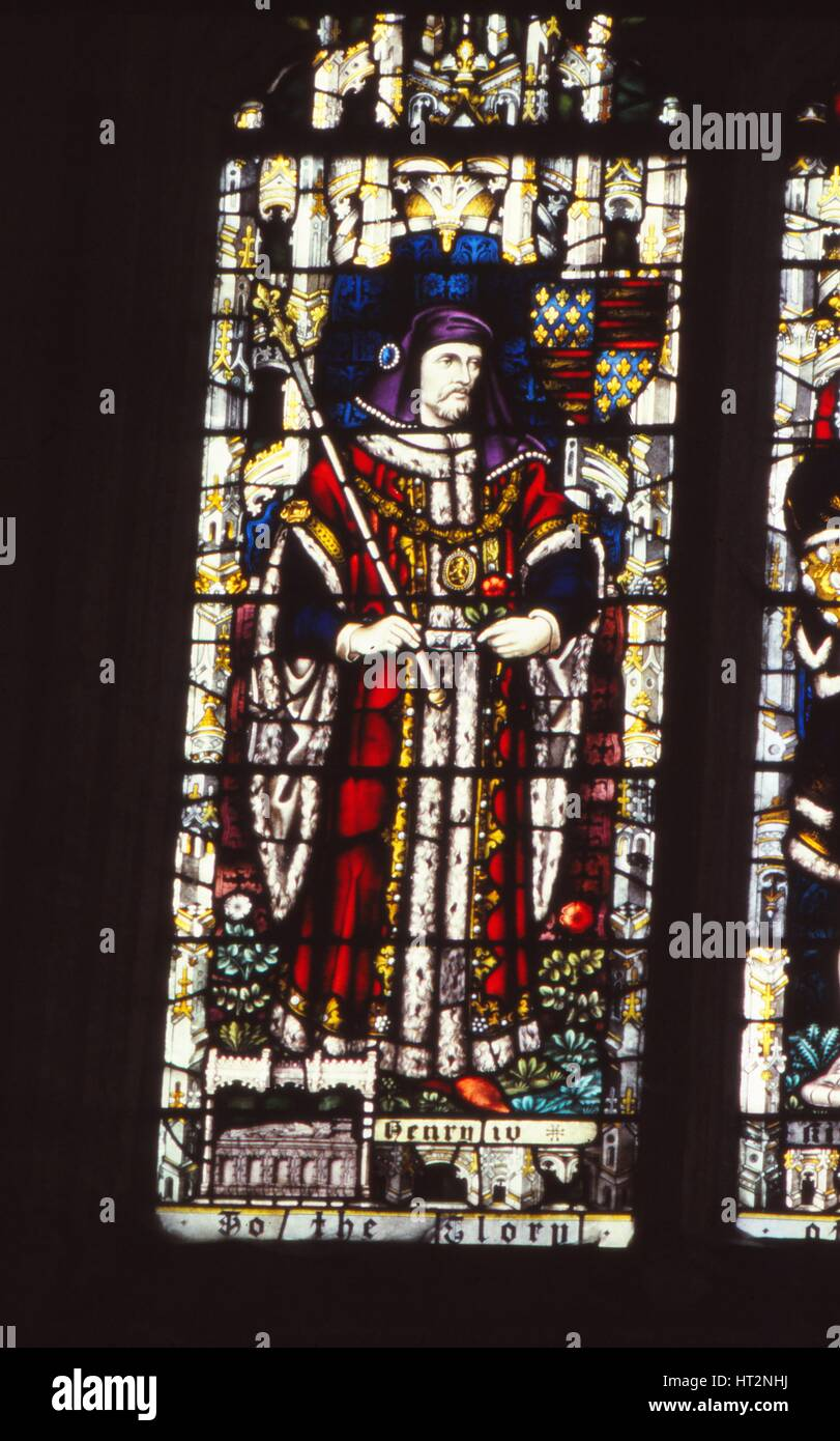 Fenster König glasmalerei fenster könig henry iv 1367 1413 die