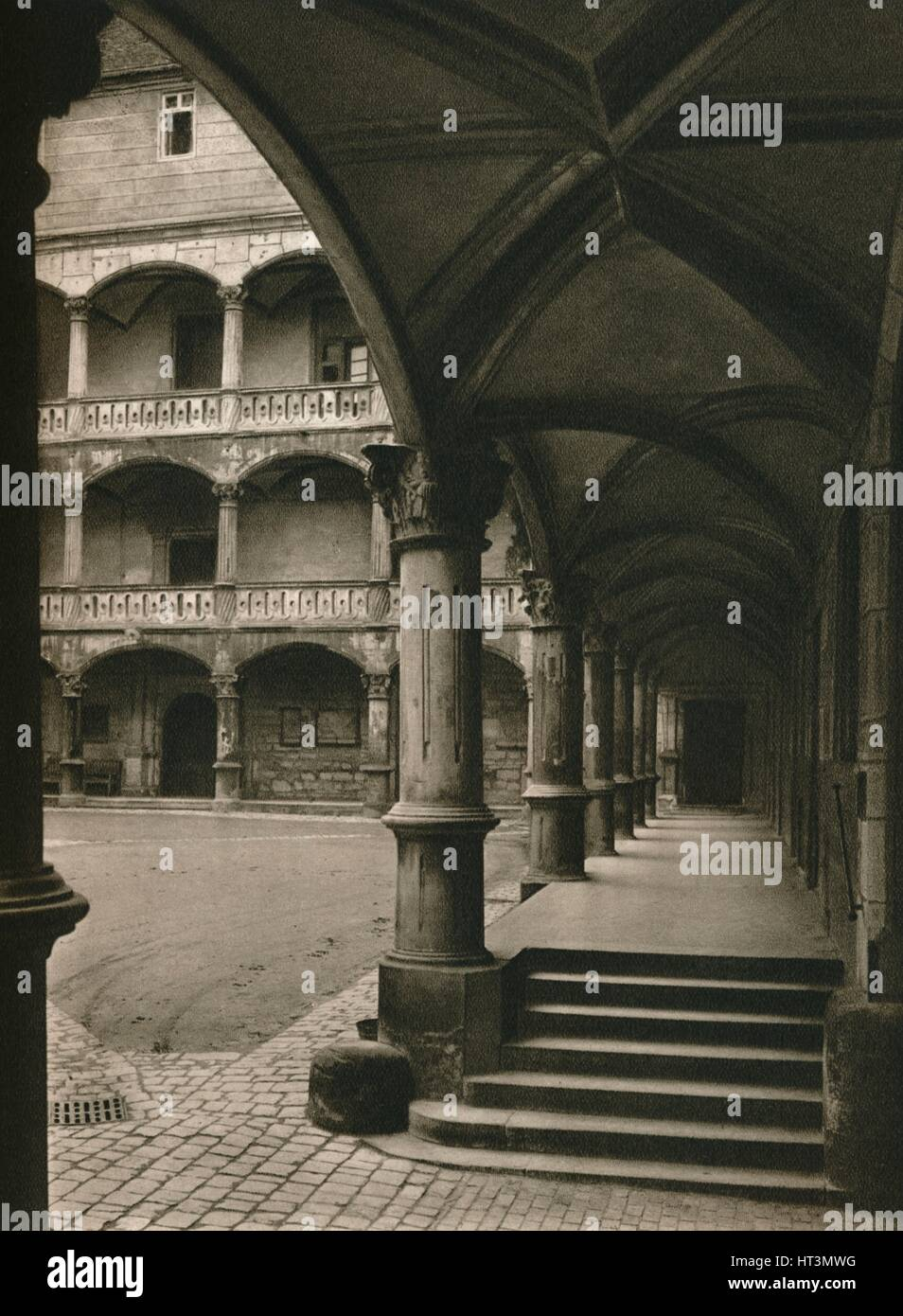 Künstler Stuttgart stuttgart im hof des alten schlosses 1931 künstler kurt
