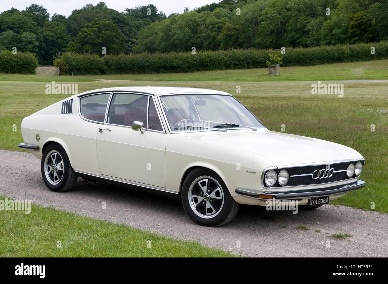 1973 im Audi 100 Coupé S Künstler: unbekannt Stockfoto, Bild: 135308601 - Alamy