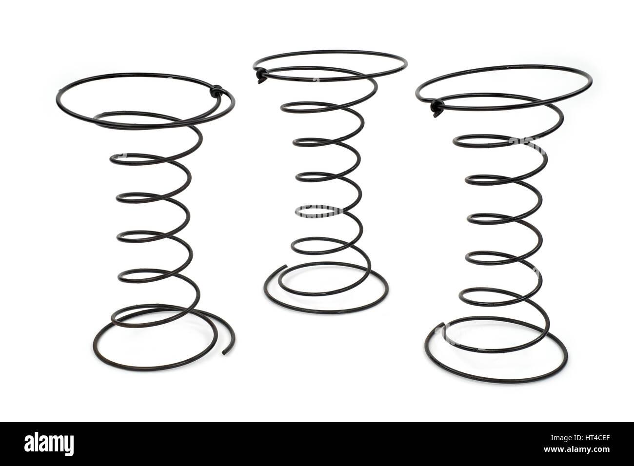 Coil Spring Spiral Steel Stockfotos & Coil Spring Spiral Steel ...