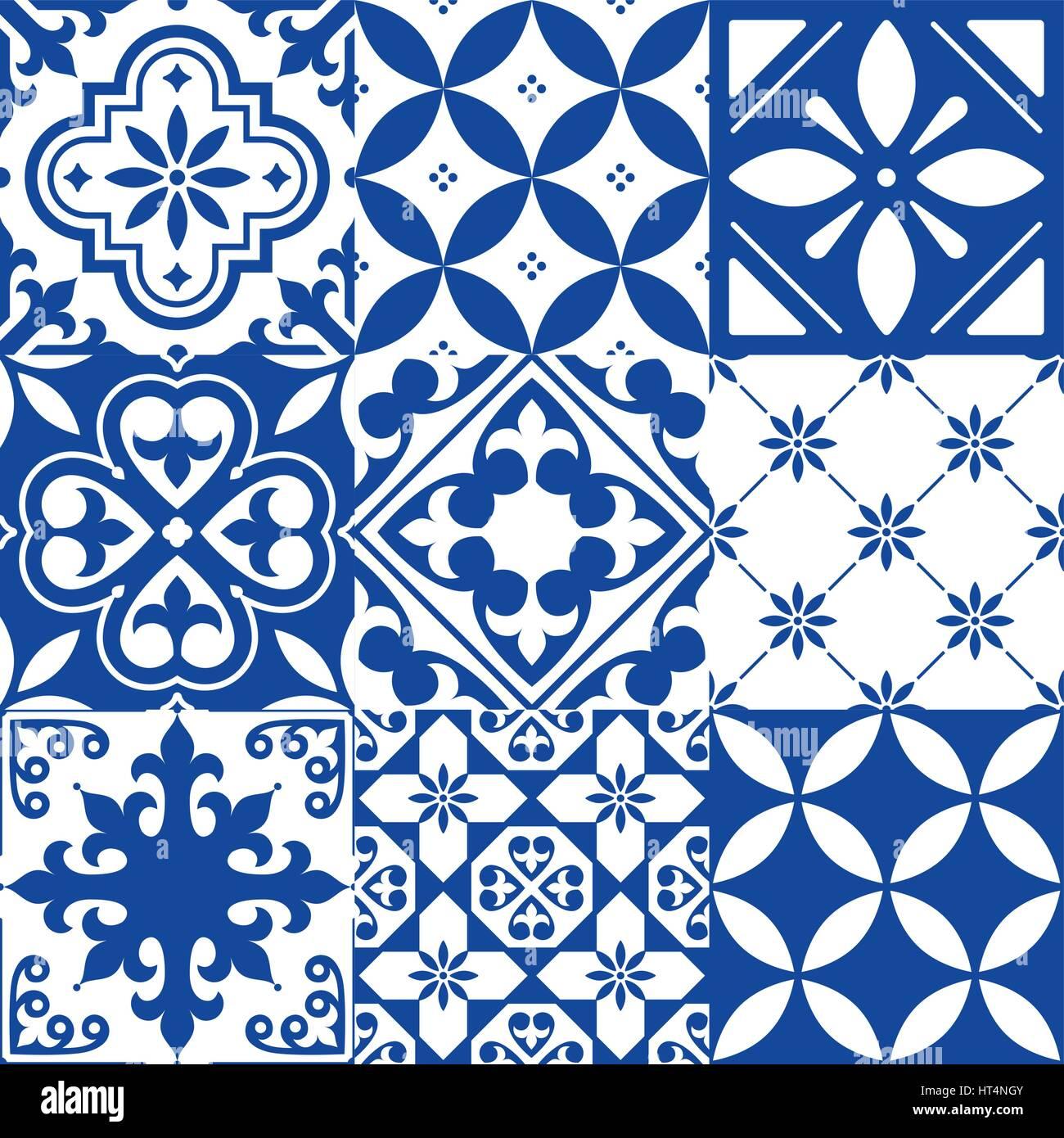 Spanische fliesen  Spanische Fliesen, marokkanischen Fliesen Design, Marineblau ...