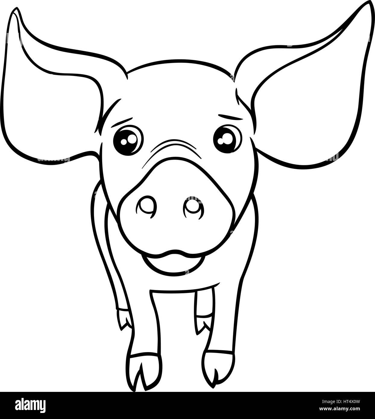 Tolle Malvorlagen Von Niedlichen Schweinen Bilder - Malvorlagen ...