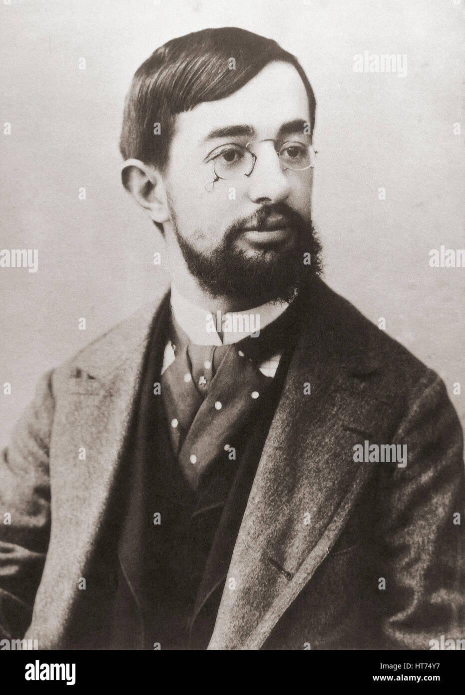 Henri Marie Raymond de Toulouse-Lautrec-Monfa, 1864-1901.  Französischer Künstler, Grafiker, Zeichner Stockbild