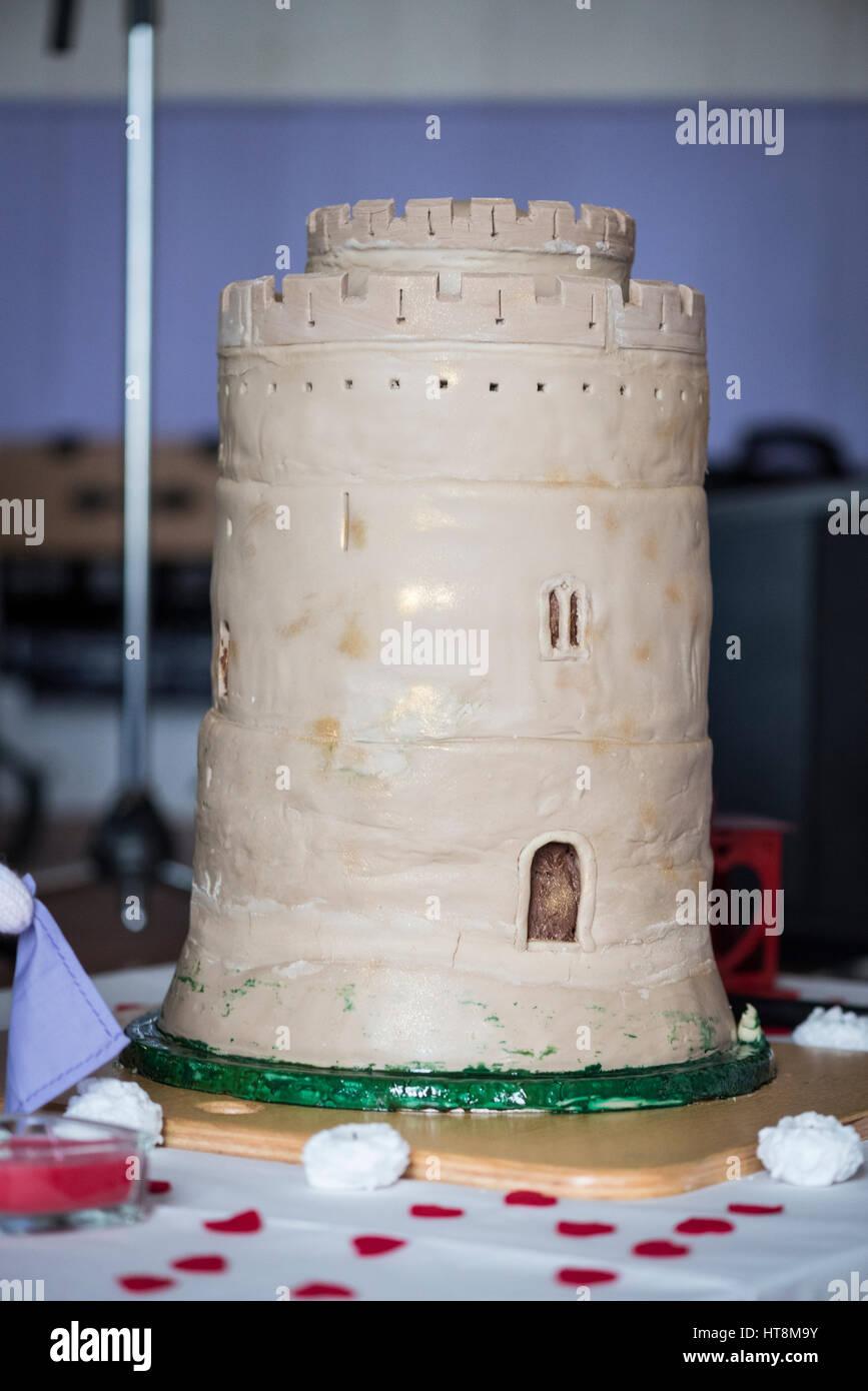 Schloss Hochzeitstorte Inspiriert Von Den Grossen Halten Pembroke