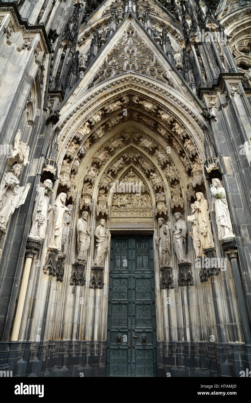 Kölner Dom Stockbild