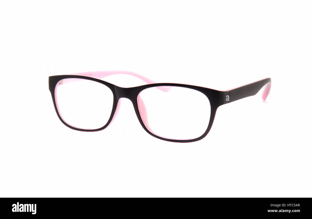 d48503c16e13a1 Pink Eye Glasses Isolated Stockfotos   Pink Eye Glasses Isolated ...