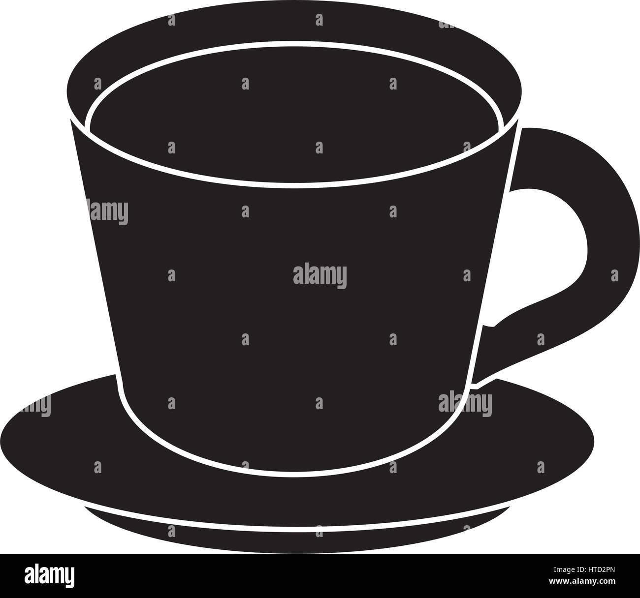 kaffee tasse teller piktogramm vektor abbildung bild 135511901 alamy. Black Bedroom Furniture Sets. Home Design Ideas