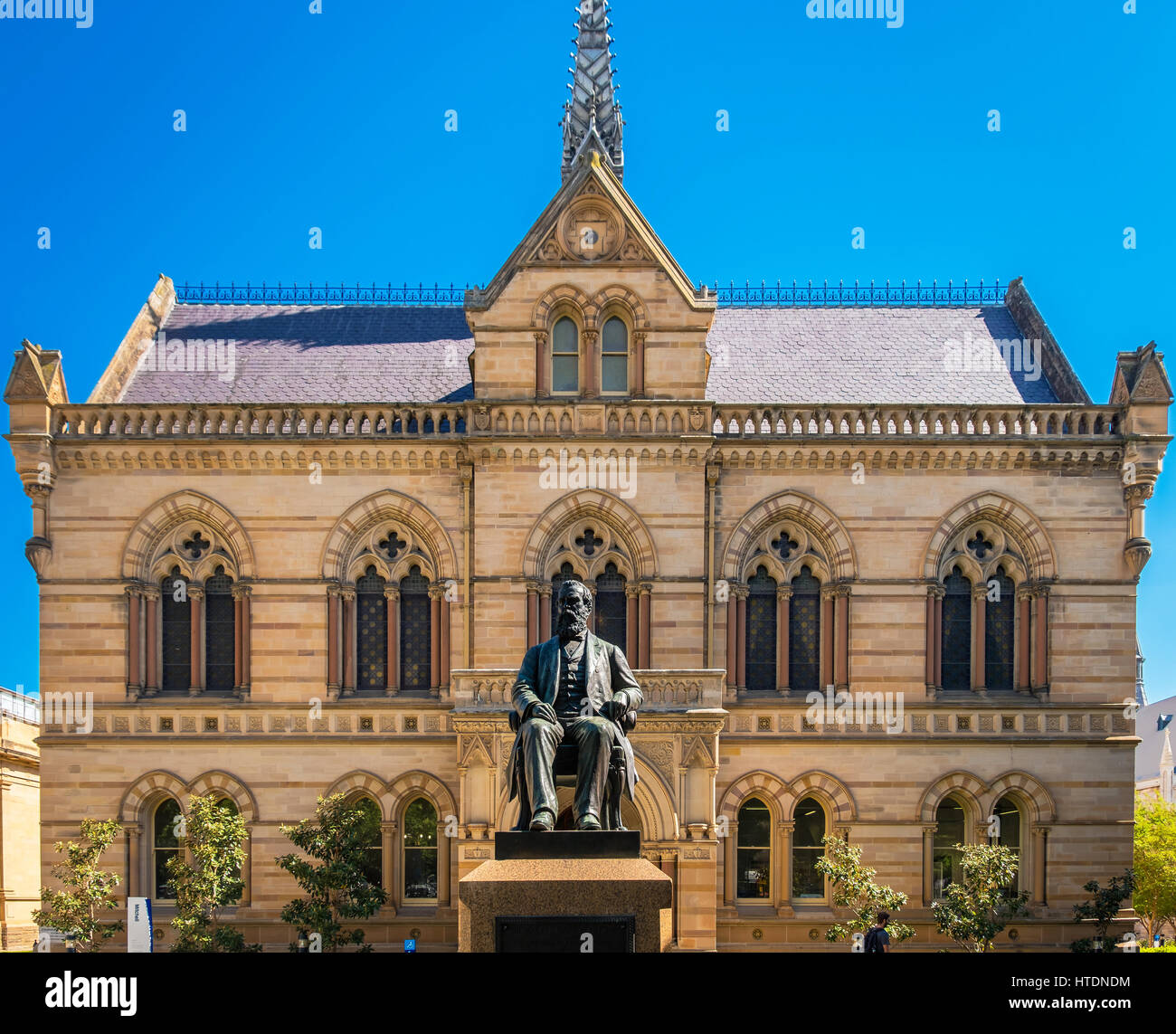 Adelaide, Australien - 11. November 2016: The University of Adelaide – Mitchell Gebäude auf North Terrace in Adelaide Stockfoto