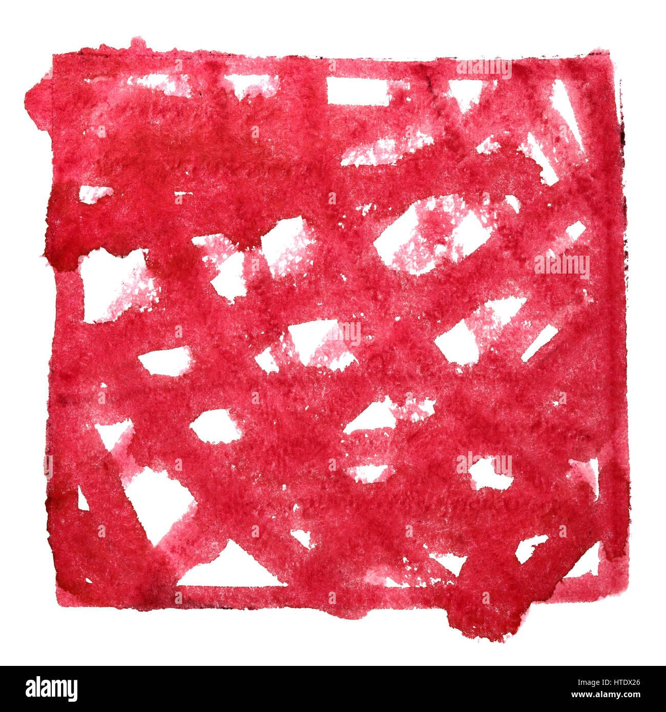 Roter Rahmen mit Doodle. Zusammenfassung Hintergrund. Platz für ...