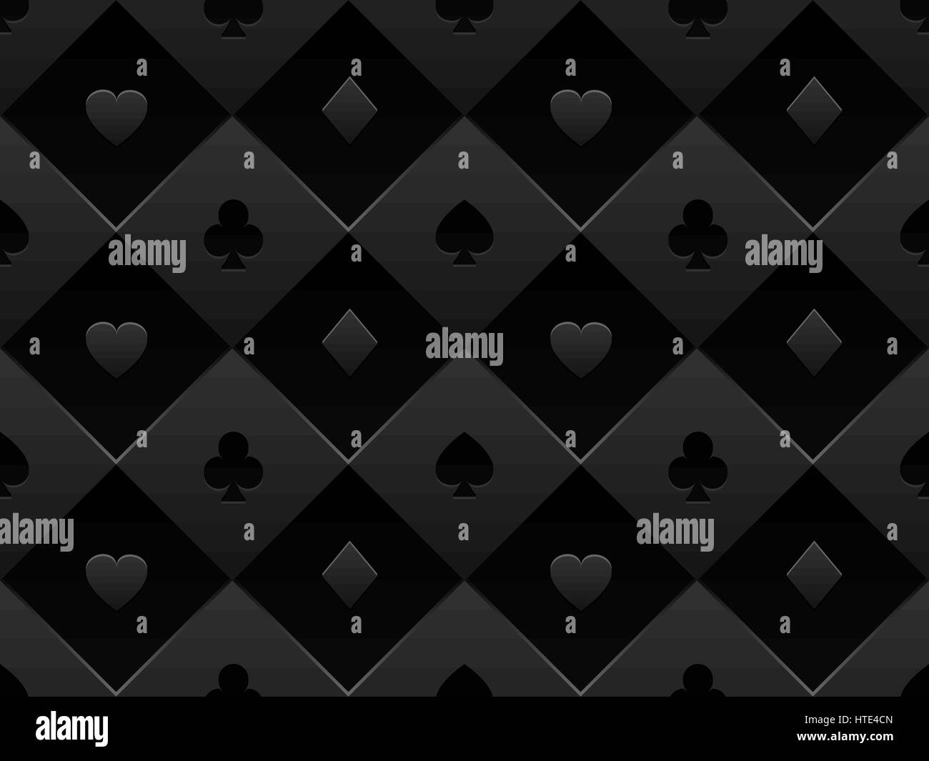 schwarzes nahtloses muster stoff pokertisch minimalistische casino vektor 3d hintergrund mit. Black Bedroom Furniture Sets. Home Design Ideas