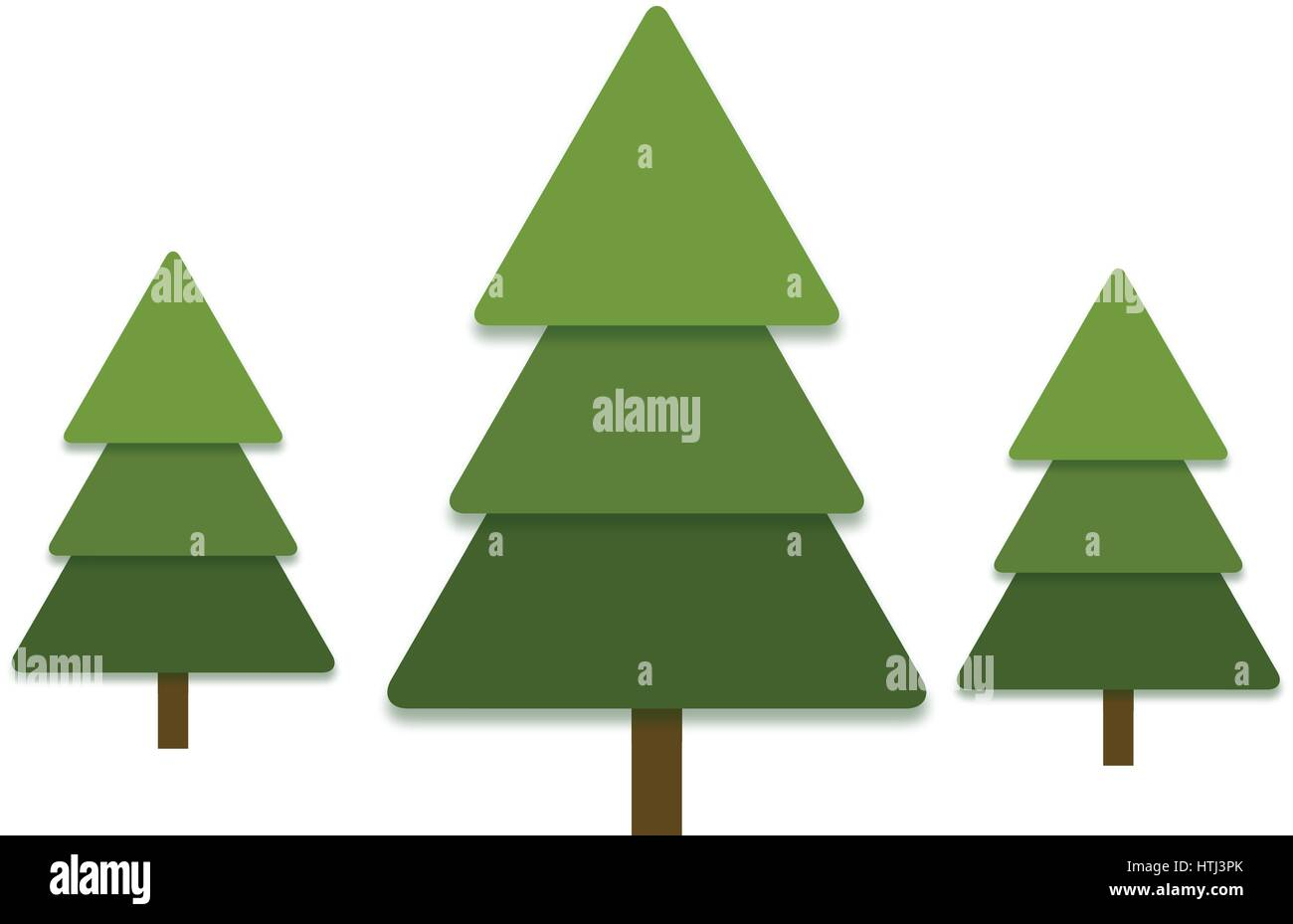 pine tree isolated icon vector stockfotos pine tree. Black Bedroom Furniture Sets. Home Design Ideas