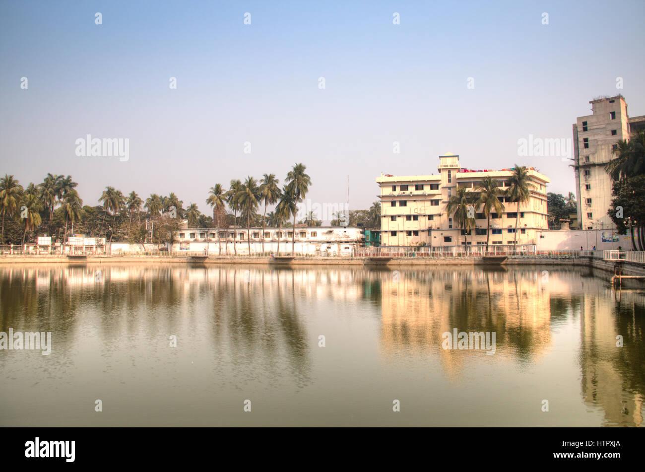 Der berühmte Hadis-Park im Zentrum von Khulna in Bangladesch Stockbild