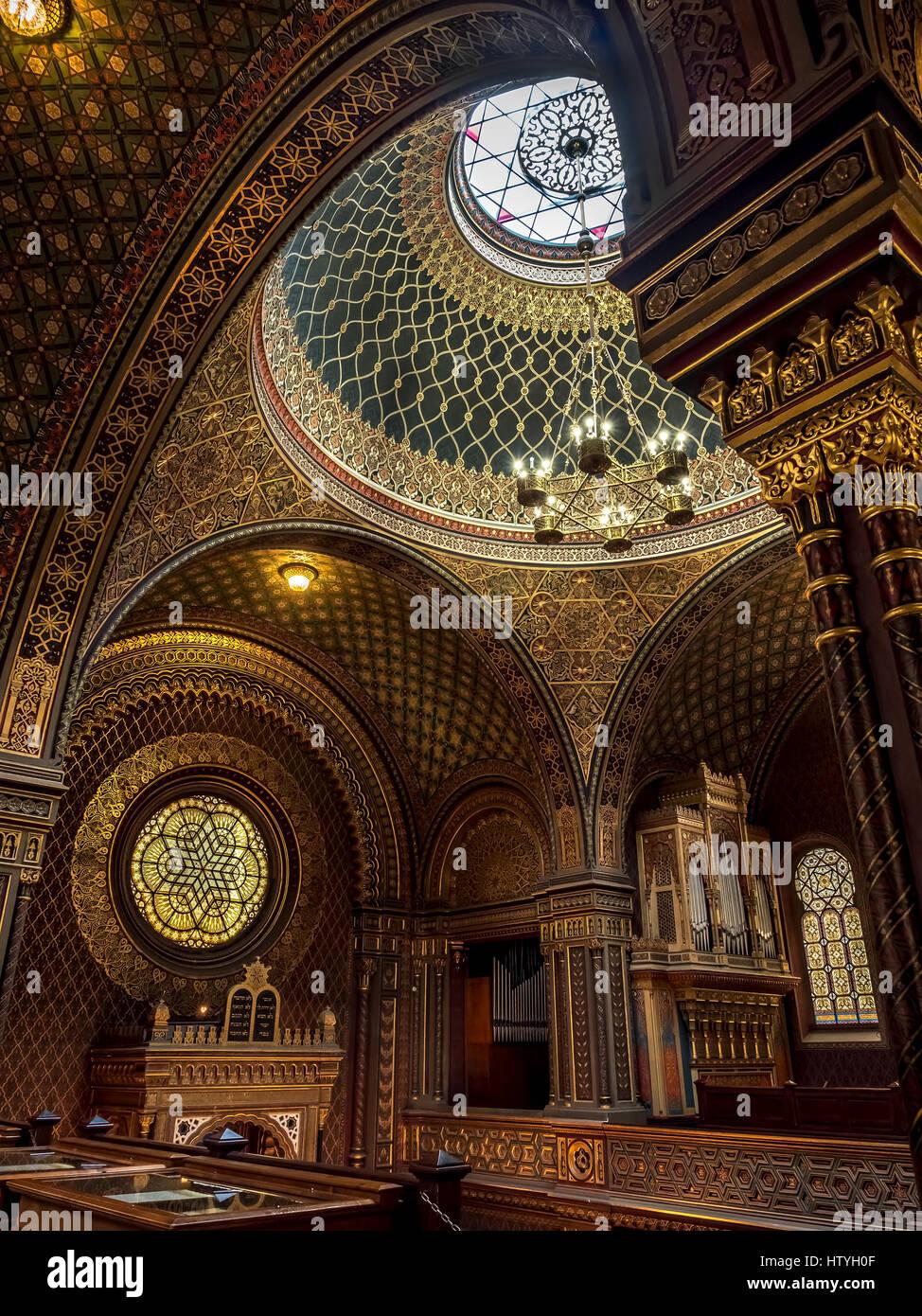 Spanish synagogue inside stockfotos spanish synagogue - Spanische dekoration ...