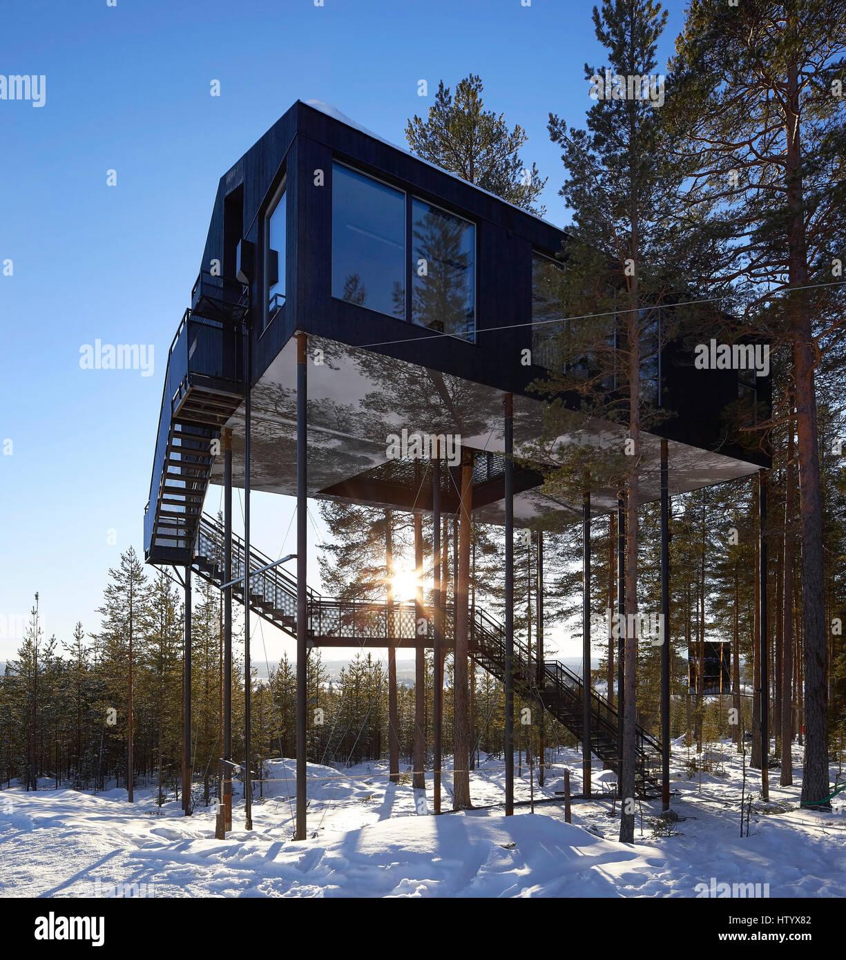Das 7 Zimmer das 7 zimmer treehotel harads schweden architekt verschiedene