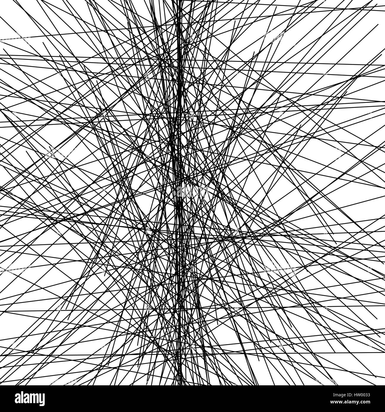 Zufällige chaotische Linien abstrakte geometrische Muster / Textur ...