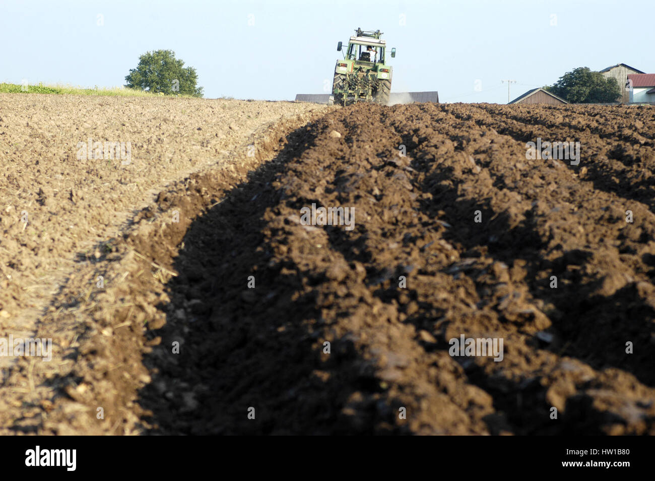 Landwirtschaft, Ackerbau Stockbild
