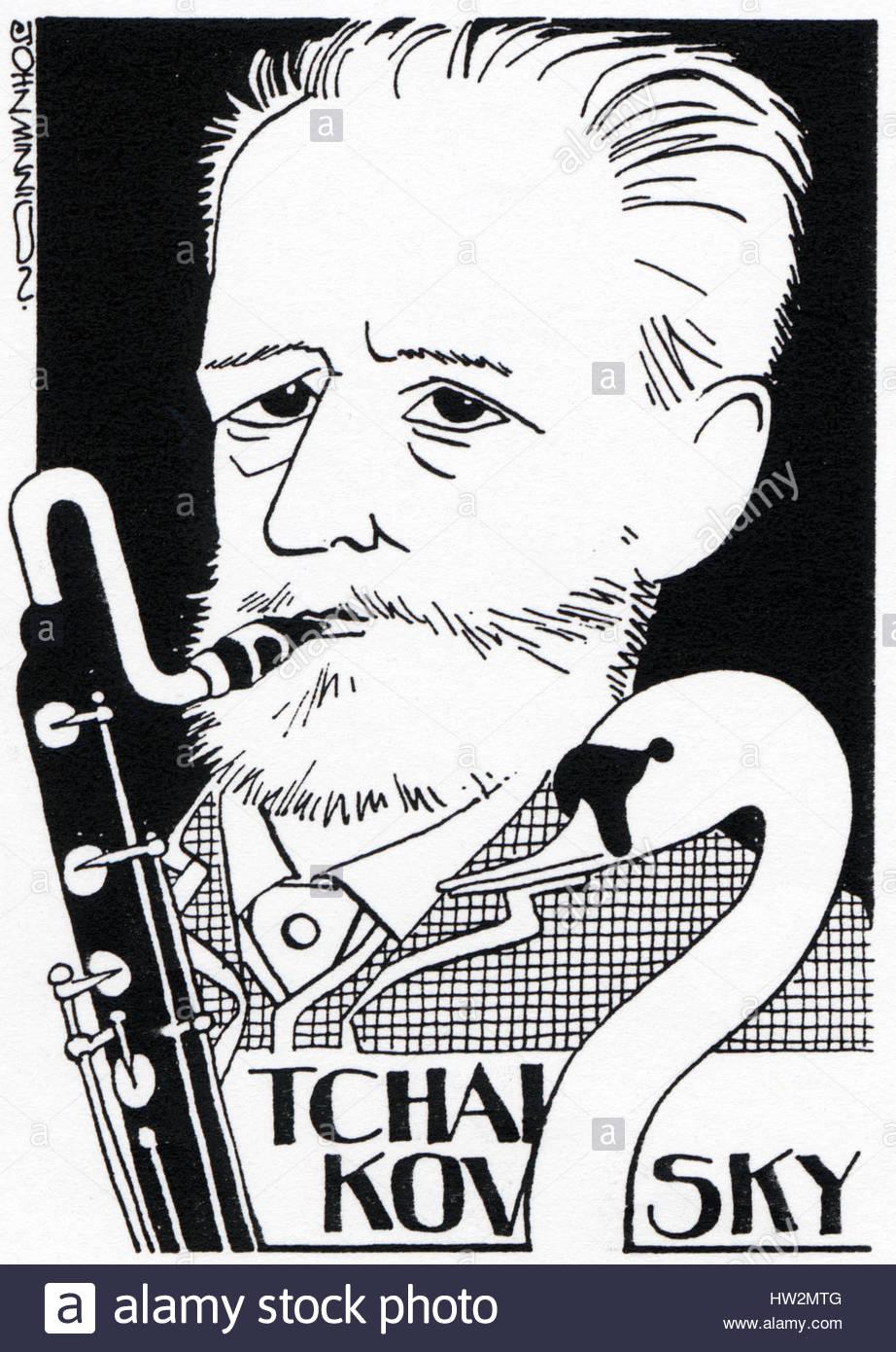 Komponist Schwanensee