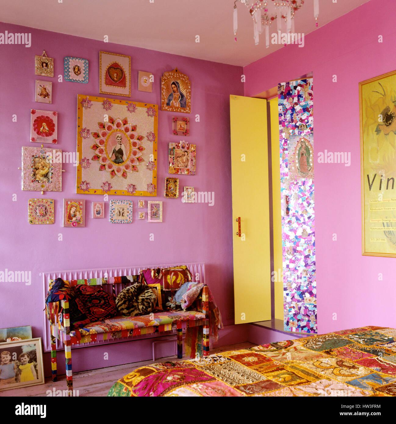 Schlafzimmer Bunt bunte schlafzimmer stockfoto, bild: 135917256 - alamy