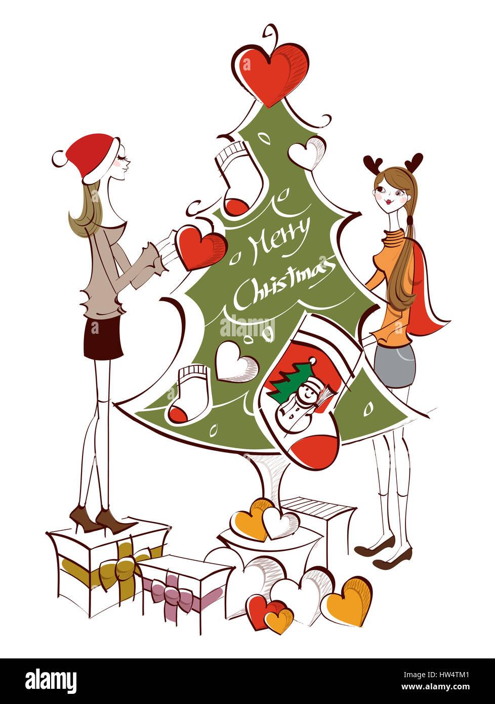 Wunderbar Weihnachten Färbung Clipart Galerie - Malvorlagen Von ...