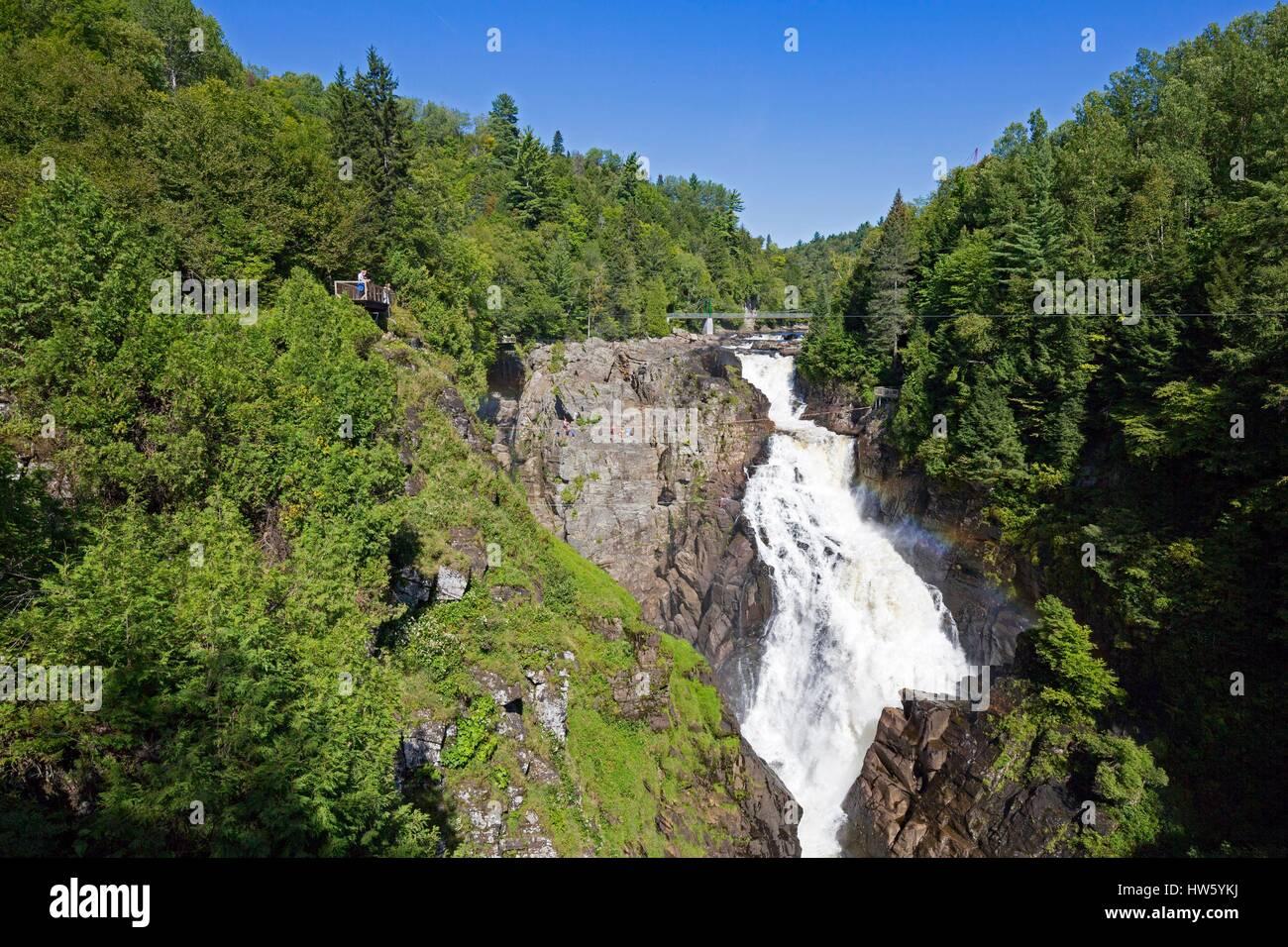 Klettersteig Quebec : Kanada provinz quebec beaupre canyon sainte anne und seinen