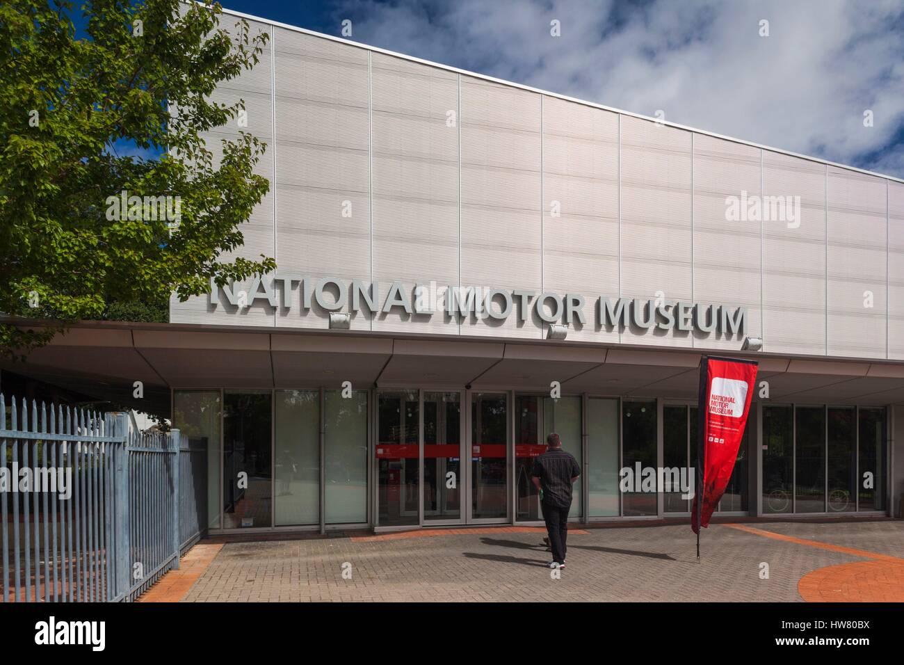 Australien, South Australia, Adelaide Hills, Birdwood, National Motor Museum, außen Stockbild