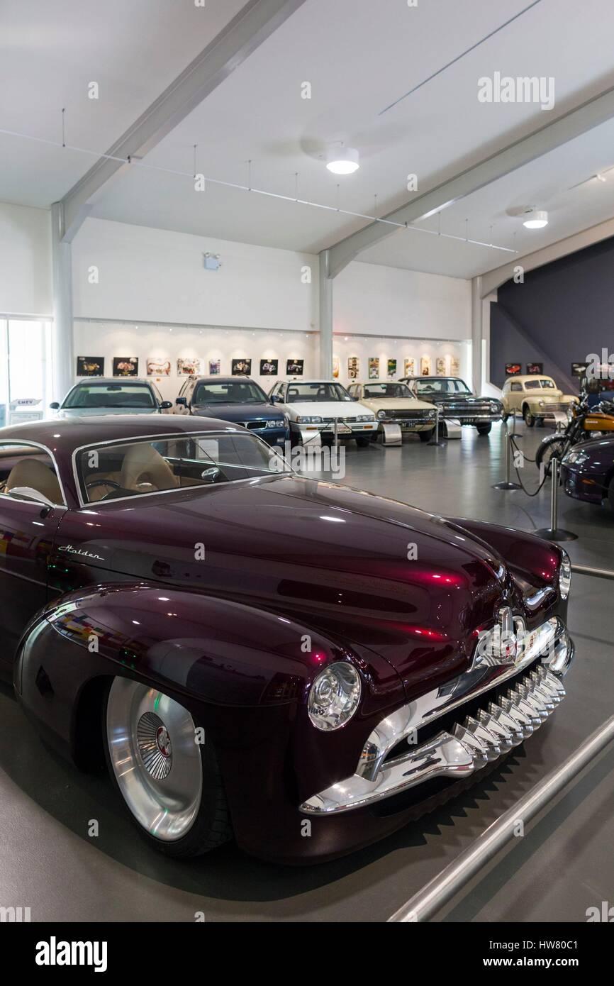 Australien, South Australia, Adelaide Hills, Birdwood, National Motor Museum, maßgeschneiderte Holden Efijy Stockbild