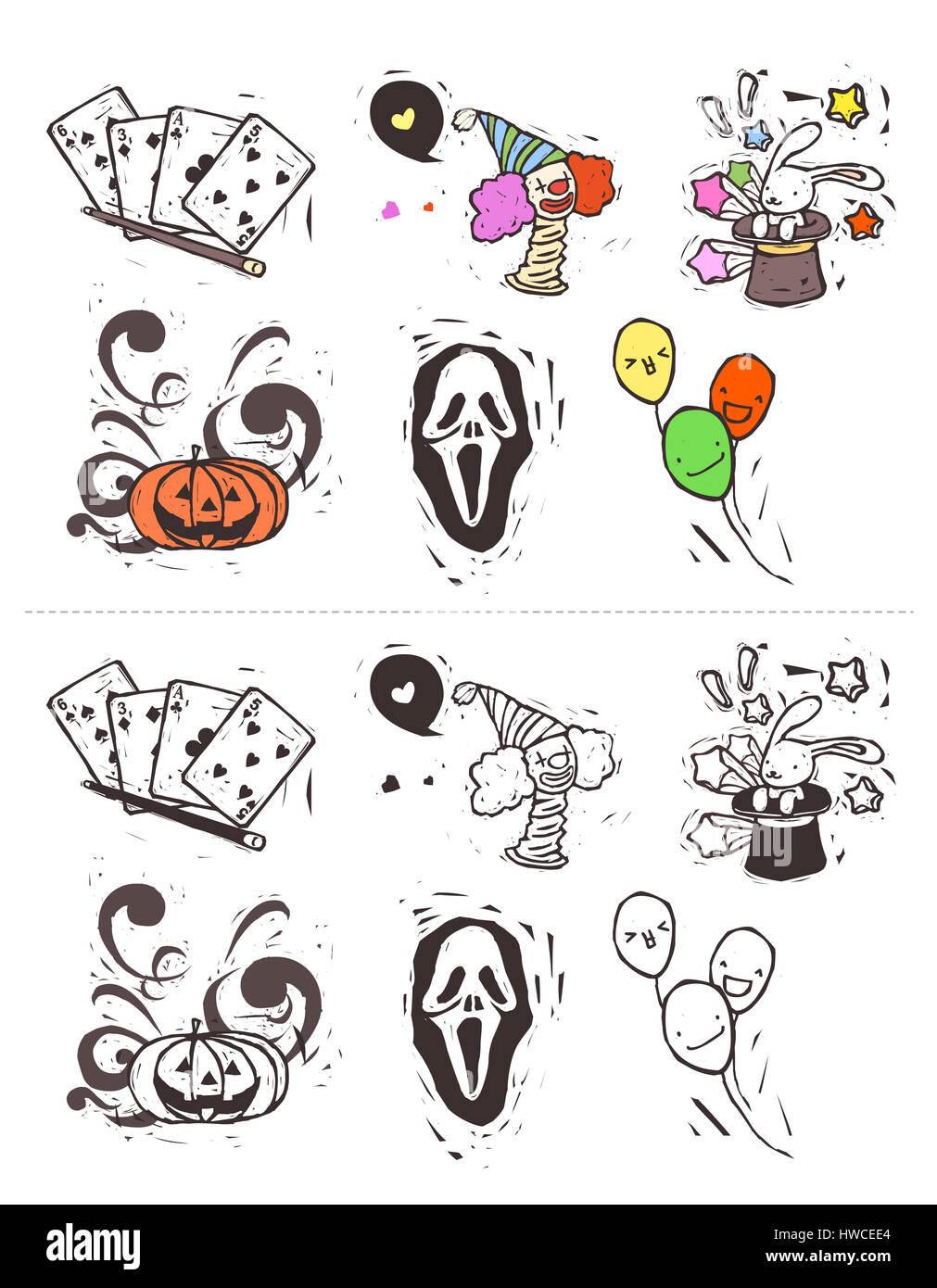 Fein Halloween Farbbilder Galerie - Entry Level Resume Vorlagen ...