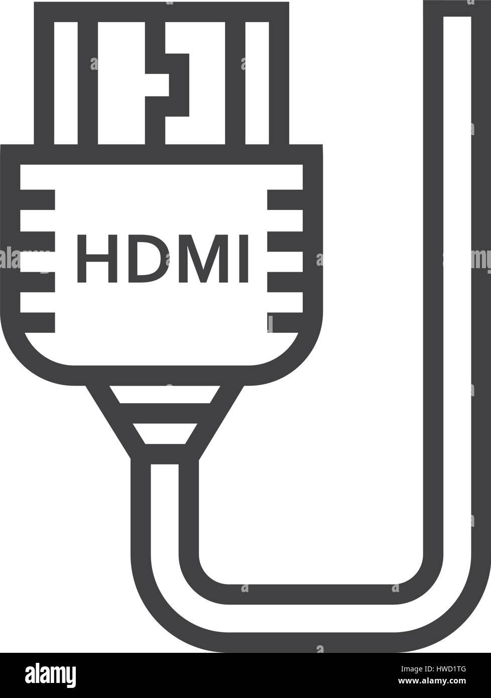 Großartig Hdmi Draht Symbol Bilder - Elektrische Schaltplan-Ideen ...