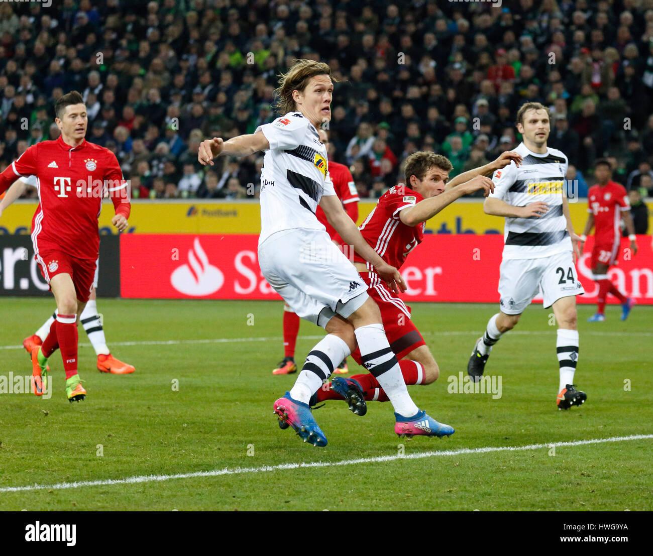 Fc Bayern München Gegen Borussia Mönchengladbach