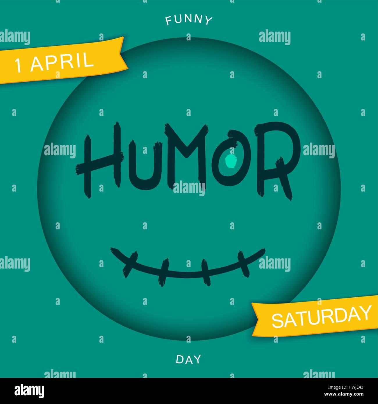 Humor. Stilisierte Smiley Design. Lustige Aufkleber. Grunge Pinsel ...